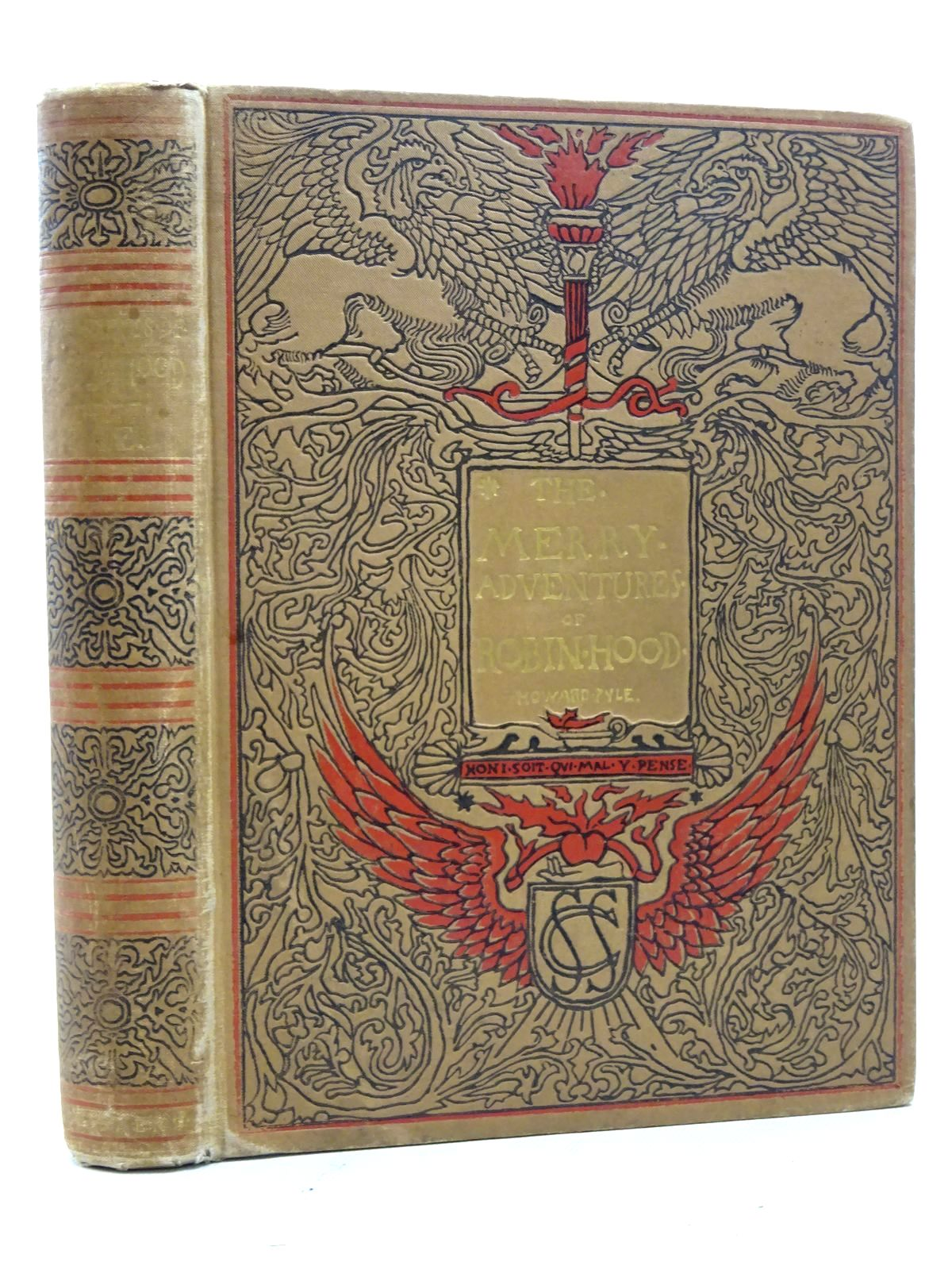 Photo of THE MERRY ADVENTURES OF ROBIN HOOD OF GREAT RENOWN, IN NOTTINGHAMSHIRE written by Pyle, Howard illustrated by Pyle, Howard published by Charles Scribner's Sons (STOCK CODE: 2125378)  for sale by Stella & Rose's Books