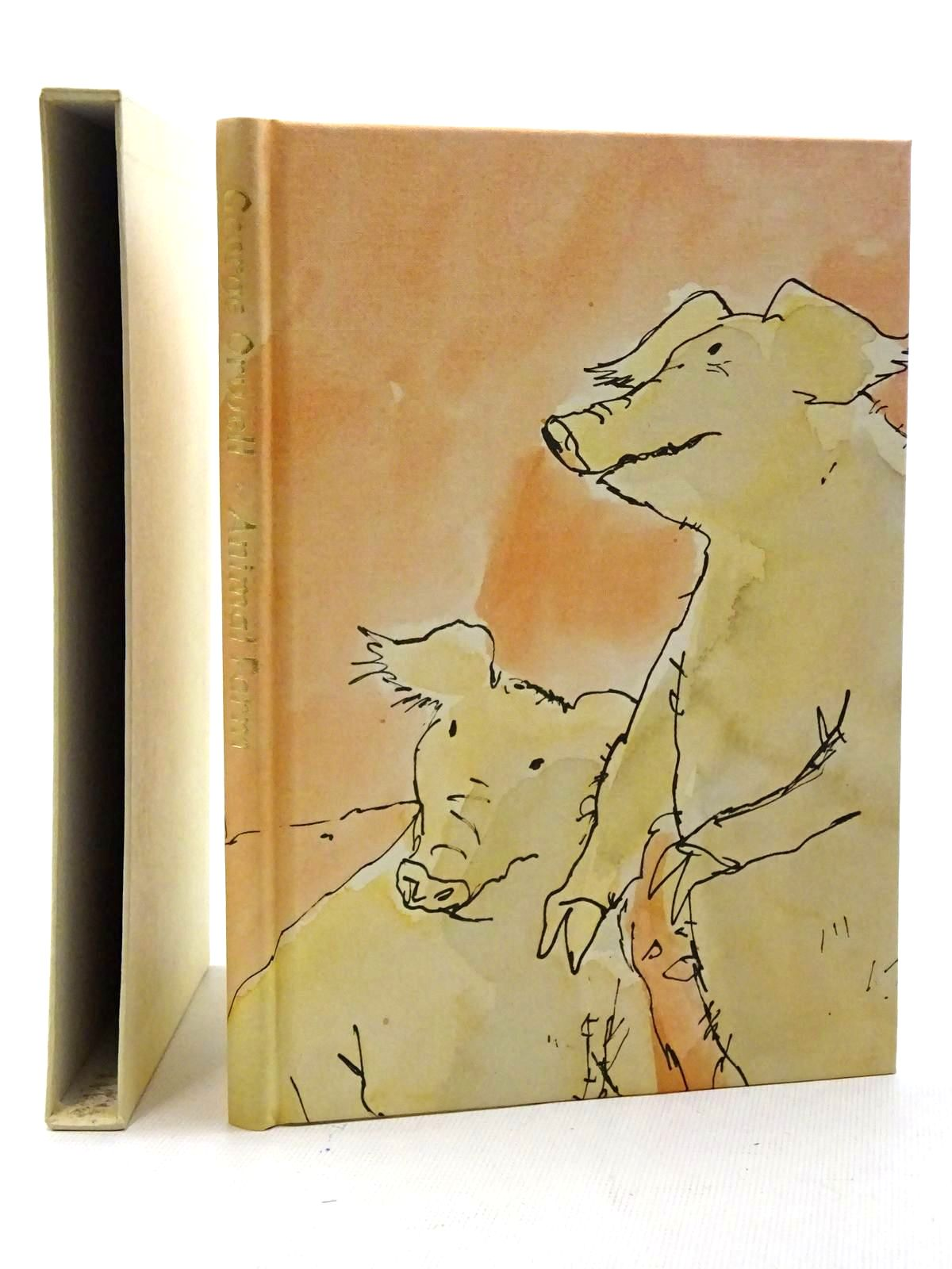 Photo of ANIMAL FARM written by Orwell, George illustrated by Blake, Quentin published by Folio Society (STOCK CODE: 2125426)  for sale by Stella & Rose's Books