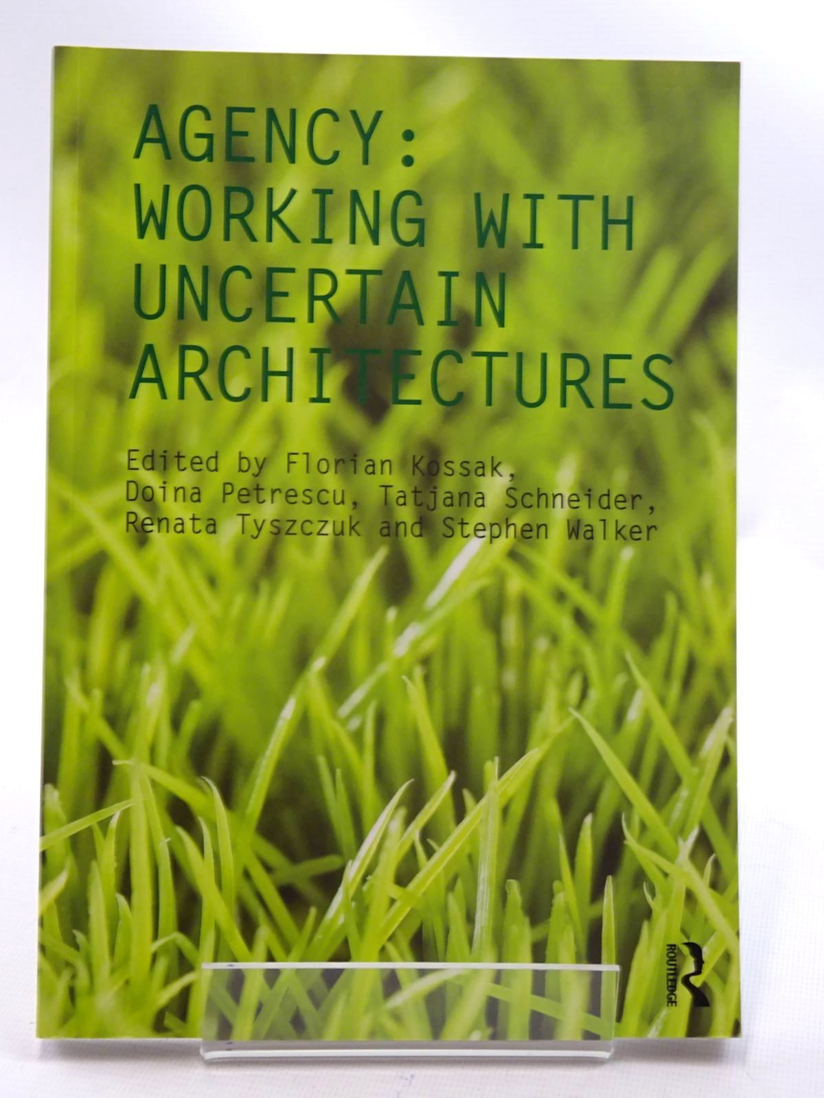 Photo of AGENCY: WORKING WITH UNCERTAIN ARCHITECTURES- Stock Number: 2125455