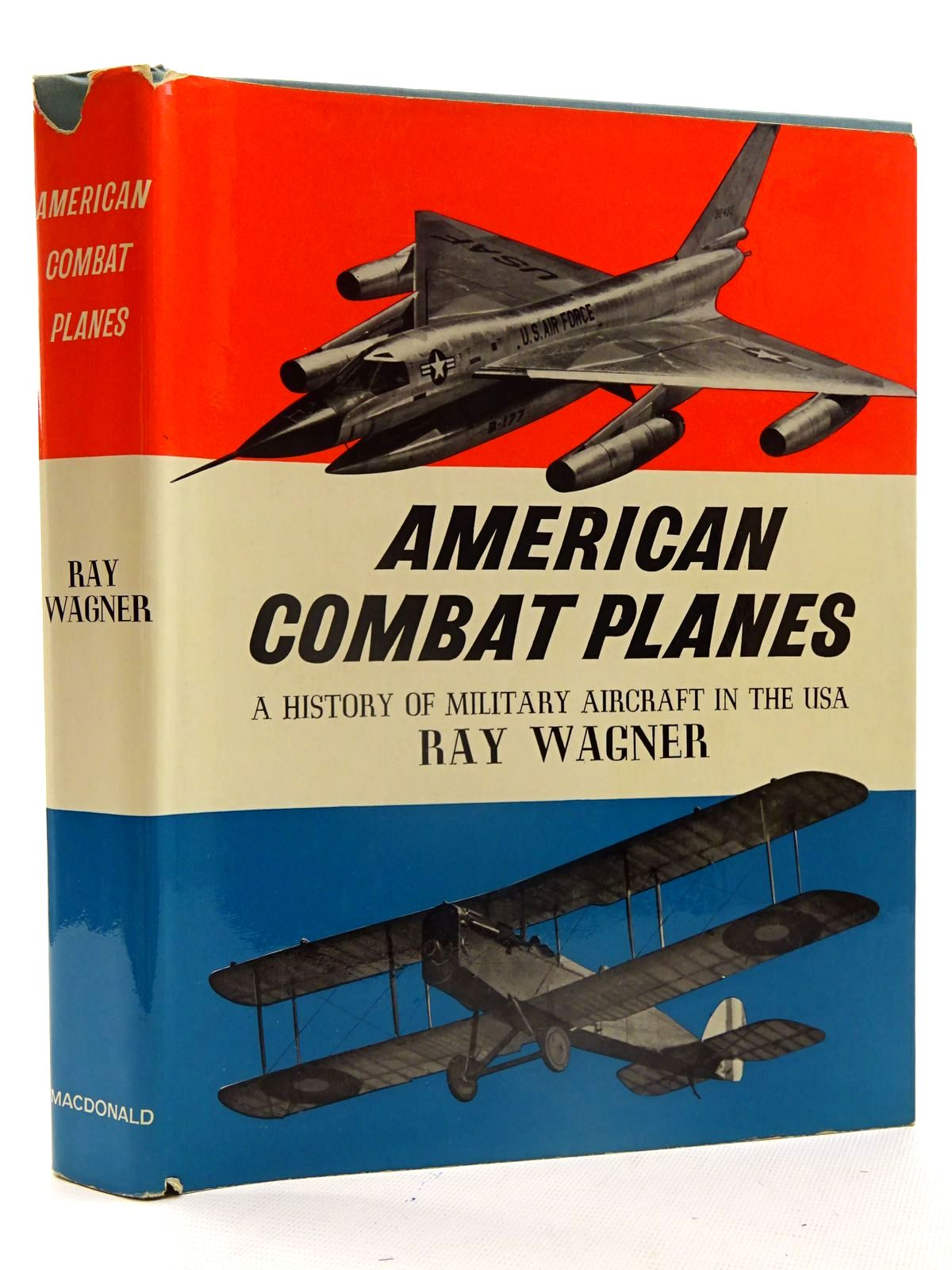 Photo of AMERICAN COMBAT PLANES written by Wagner, Ray published by MacDonald (STOCK CODE: 2125465)  for sale by Stella & Rose's Books