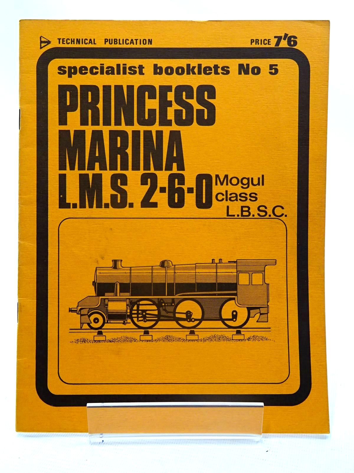 Photo of PRINCESS MARINA written by L.B.S.C., published by Model & Allied Publications (STOCK CODE: 2125529)  for sale by Stella & Rose's Books