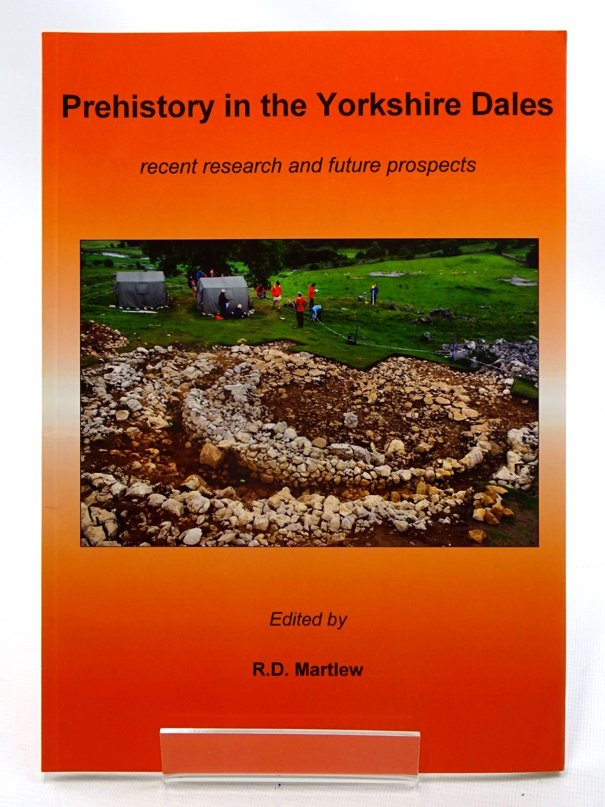 Photo of PREHISTORY IN THE YORKSHIRE DALES RECENT RESEARCH AND FUTURE PROSPECTS written by Martlew, R.D. published by Place, Yorkshire Dales Landscape Research Trust (STOCK CODE: 2125627)  for sale by Stella & Rose's Books