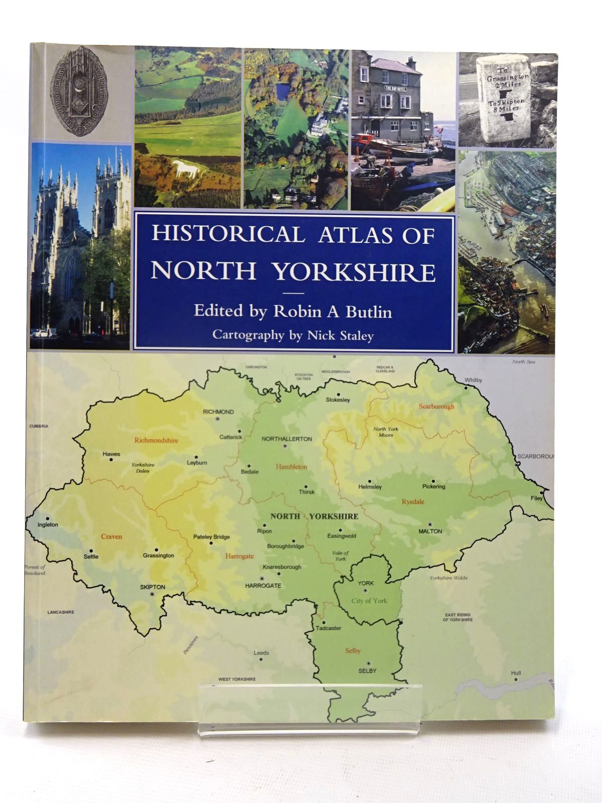 Photo of HISTORICAL ATLAS OF NORTH YORKSHIRE written by Butlin, Robin A. published by Westbury Publishing (STOCK CODE: 2125639)  for sale by Stella & Rose's Books