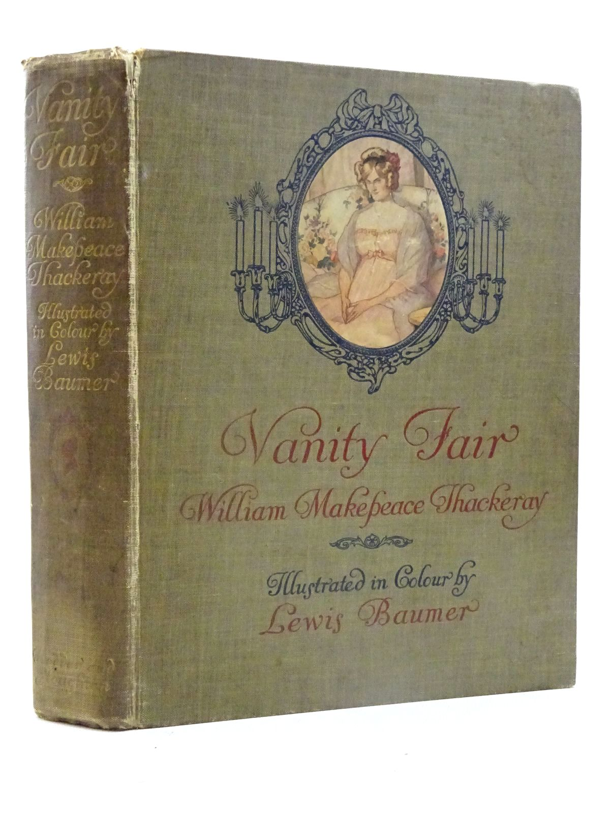Photo of VANITY FAIR written by Thackeray, William Makepeace illustrated by Baumer, Lewis published by Hodder & Stoughton (STOCK CODE: 2125655)  for sale by Stella & Rose's Books