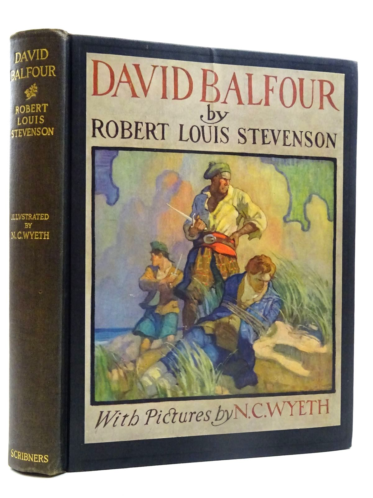Photo of DAVID BALFOUR written by Stevenson, Robert Louis illustrated by Wyeth, N.C. published by Charles Scribner's Sons (STOCK CODE: 2125743)  for sale by Stella & Rose's Books