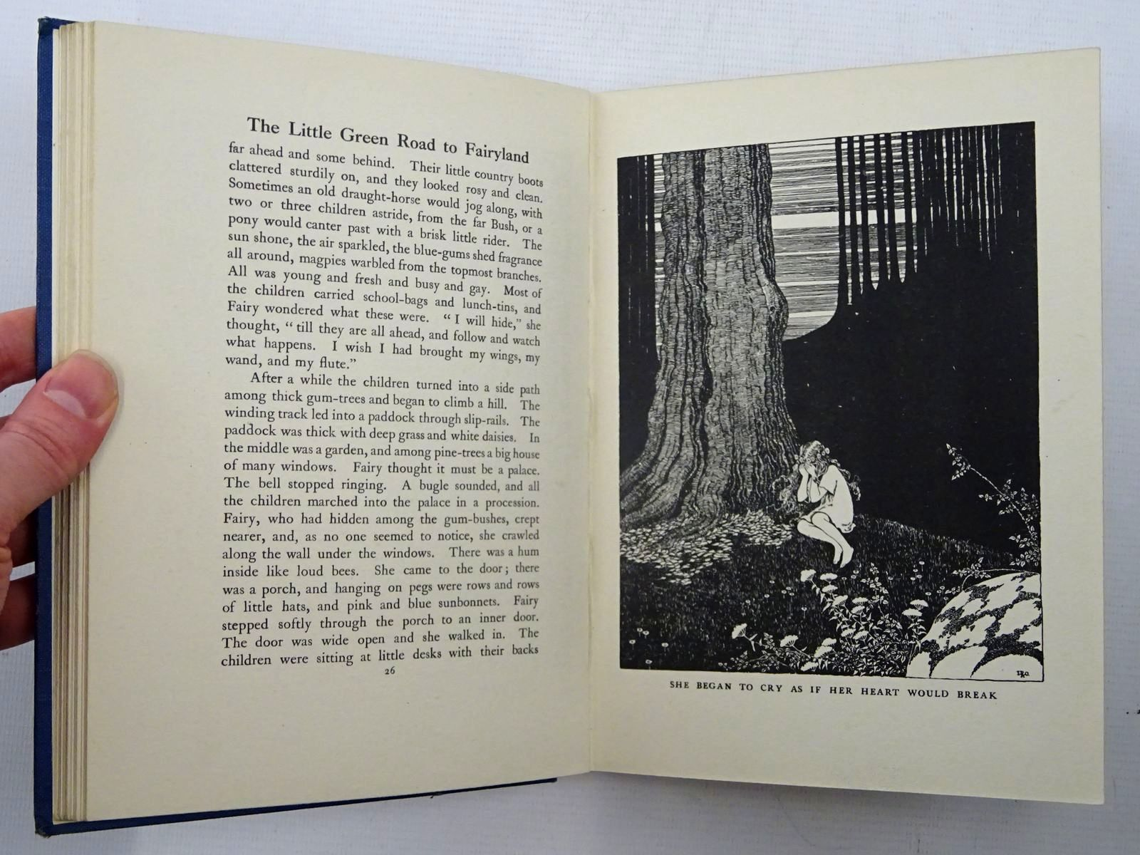 Photo of THE LITTLE GREEN ROAD TO FAIRYLAND written by Rentoul, Annie R. illustrated by Outhwaite, Ida Rentoul published by A. & C. Black Ltd. (STOCK CODE: 2125755)  for sale by Stella & Rose's Books