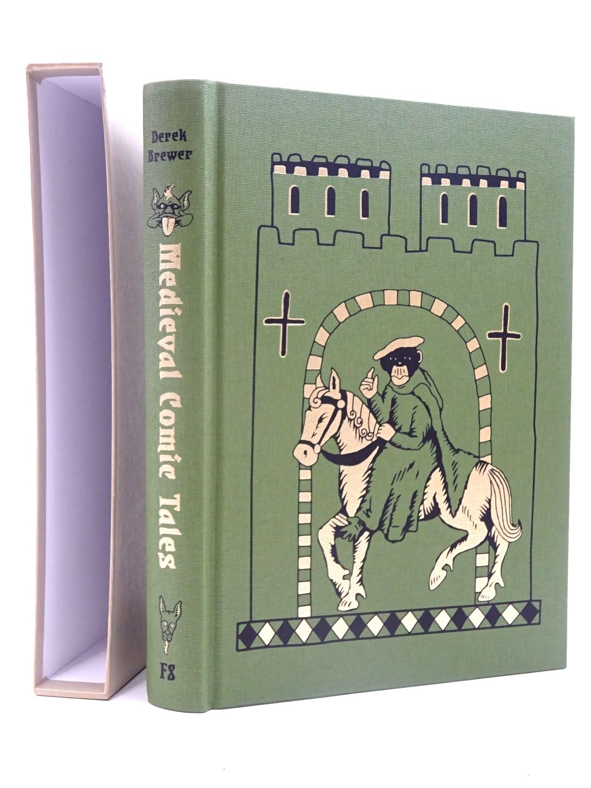 Photo of MEDIEVAL COMIC TALES written by Brewer, Derek illustrated by Thorne, Becca published by Folio Society (STOCK CODE: 2125764)  for sale by Stella & Rose's Books