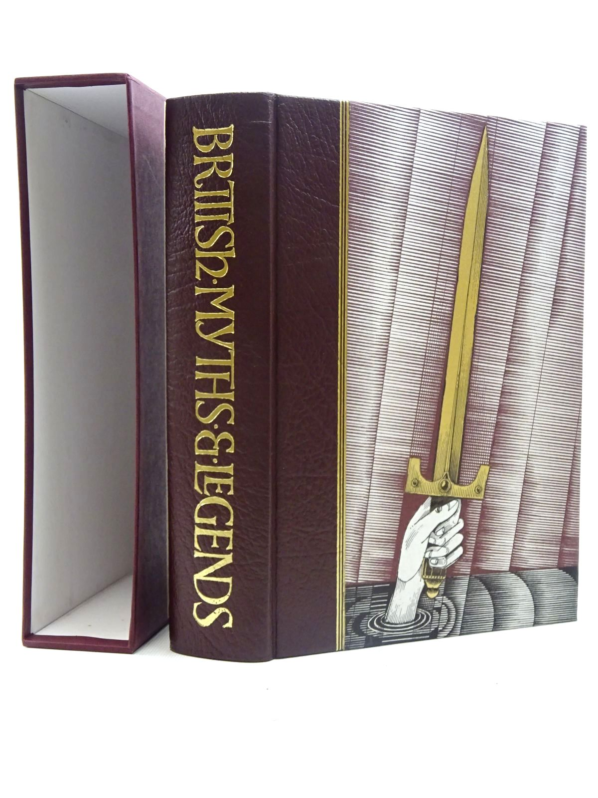 Photo of BRITISH MYTHS & LEGENDS written by Barber, Richard illustrated by Lord, John Vernon published by Folio Society (STOCK CODE: 2125792)  for sale by Stella & Rose's Books