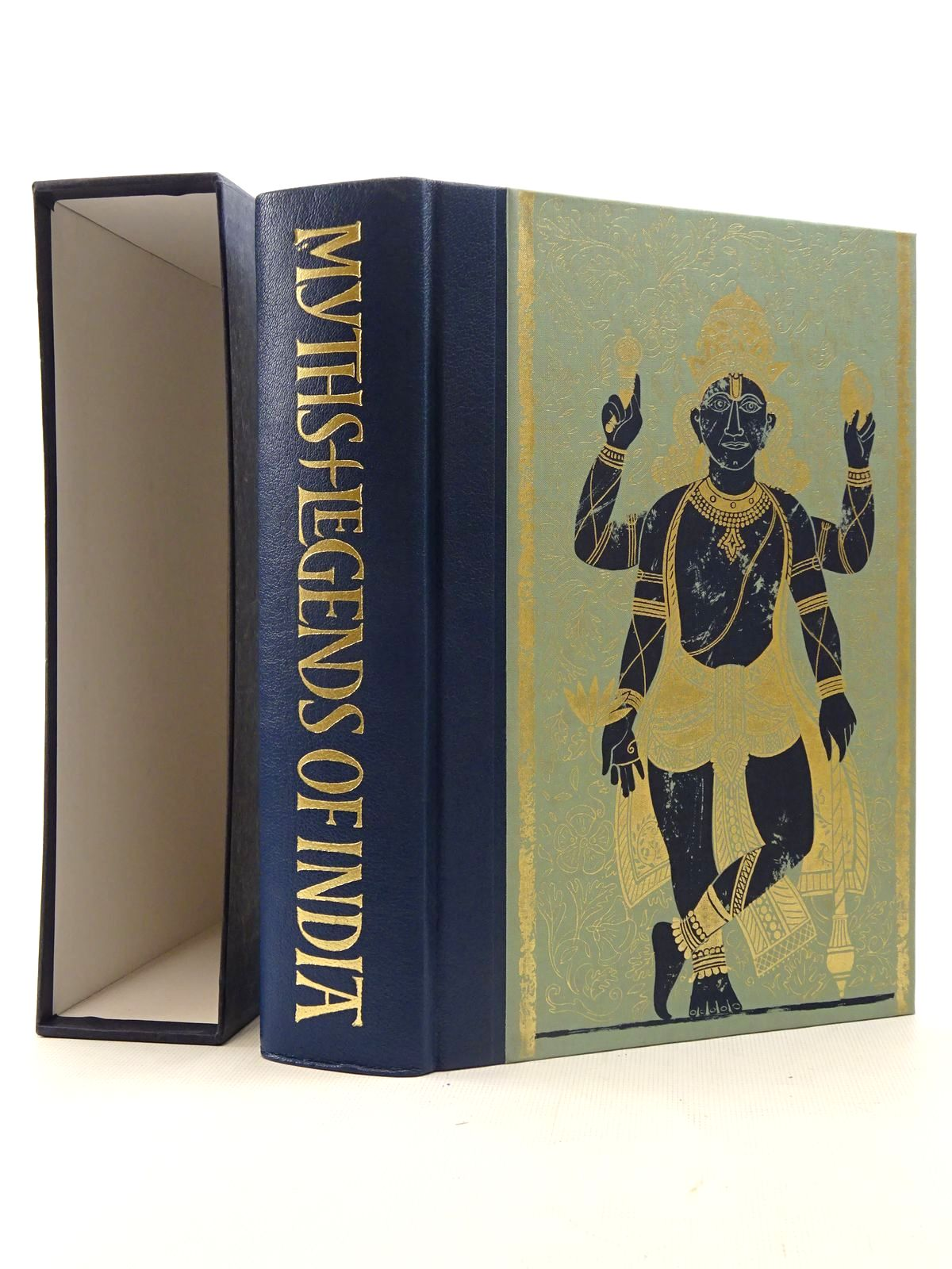Photo of MYTHS & LEGENDS OF INDIA written by Radice, William published by Folio Society (STOCK CODE: 2125793)  for sale by Stella & Rose's Books