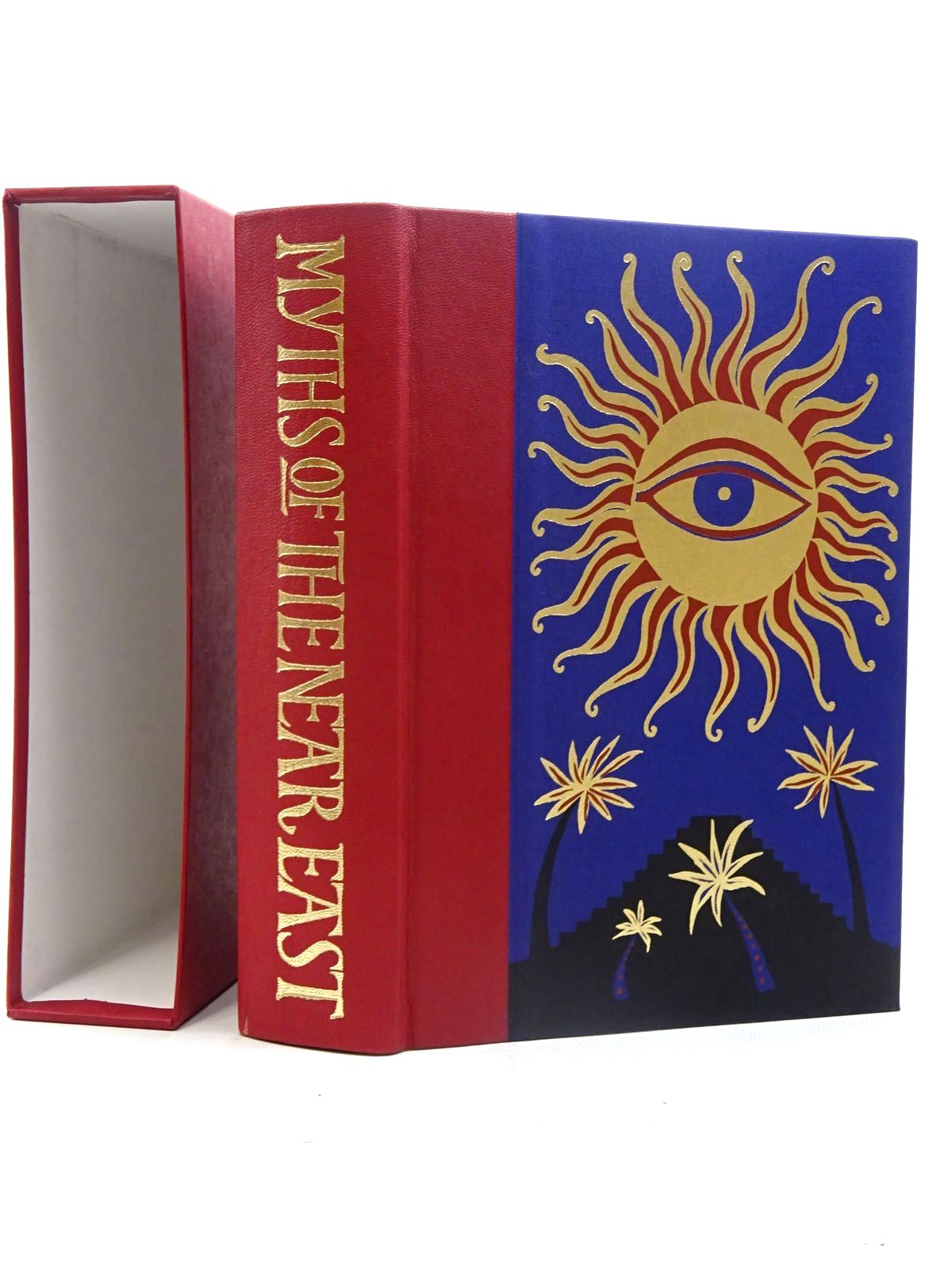 Photo of MYTHS AND LEGENDS OF THE ANCIENT NEAR EAST written by Storm, Rachel illustrated by Ray, Jane published by Folio Society (STOCK CODE: 2125798)  for sale by Stella & Rose's Books