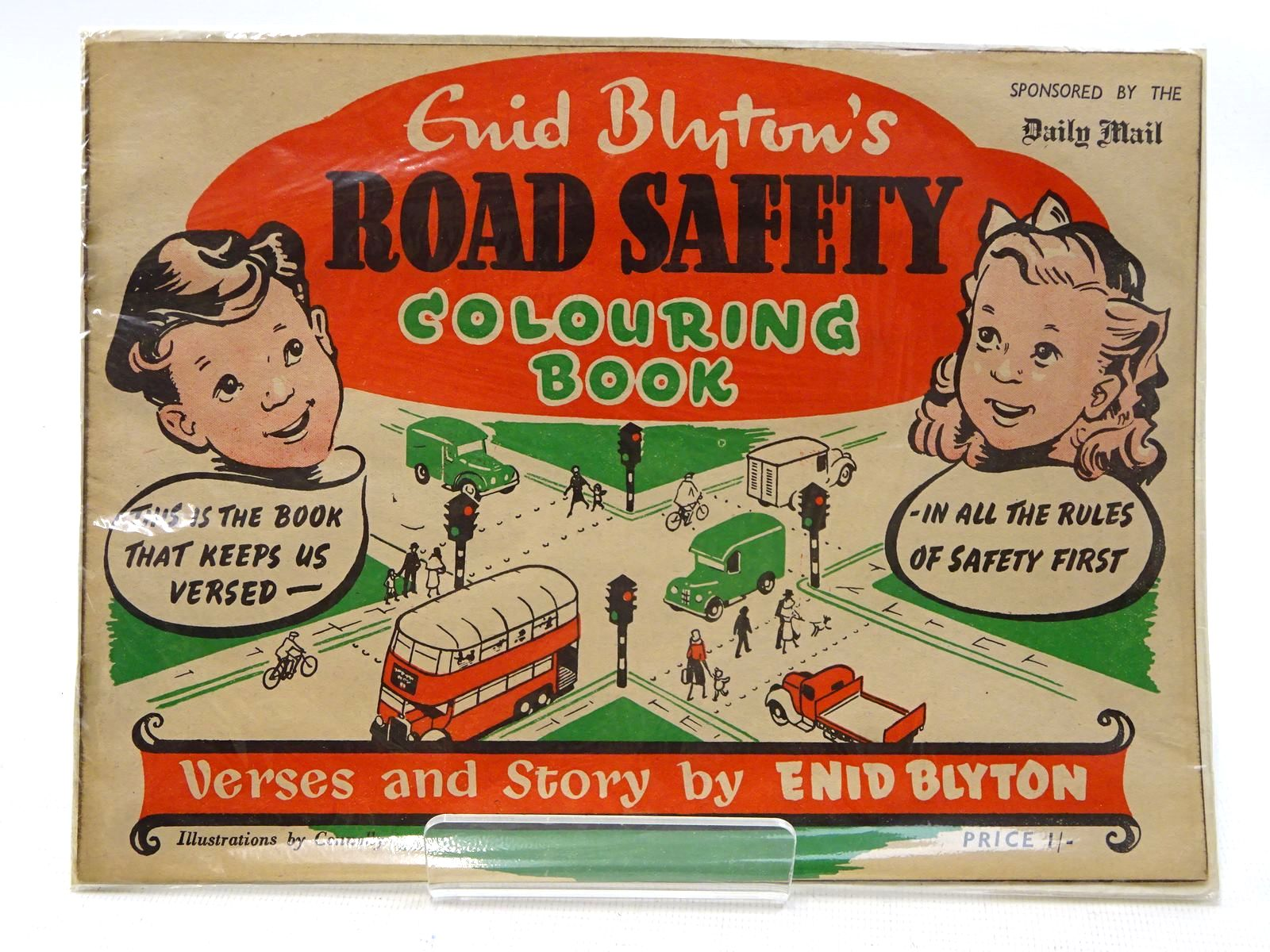 Photo of ENID BLYTON'S ROAD SAFETY COLOURING BOOK- Stock Number: 2125811