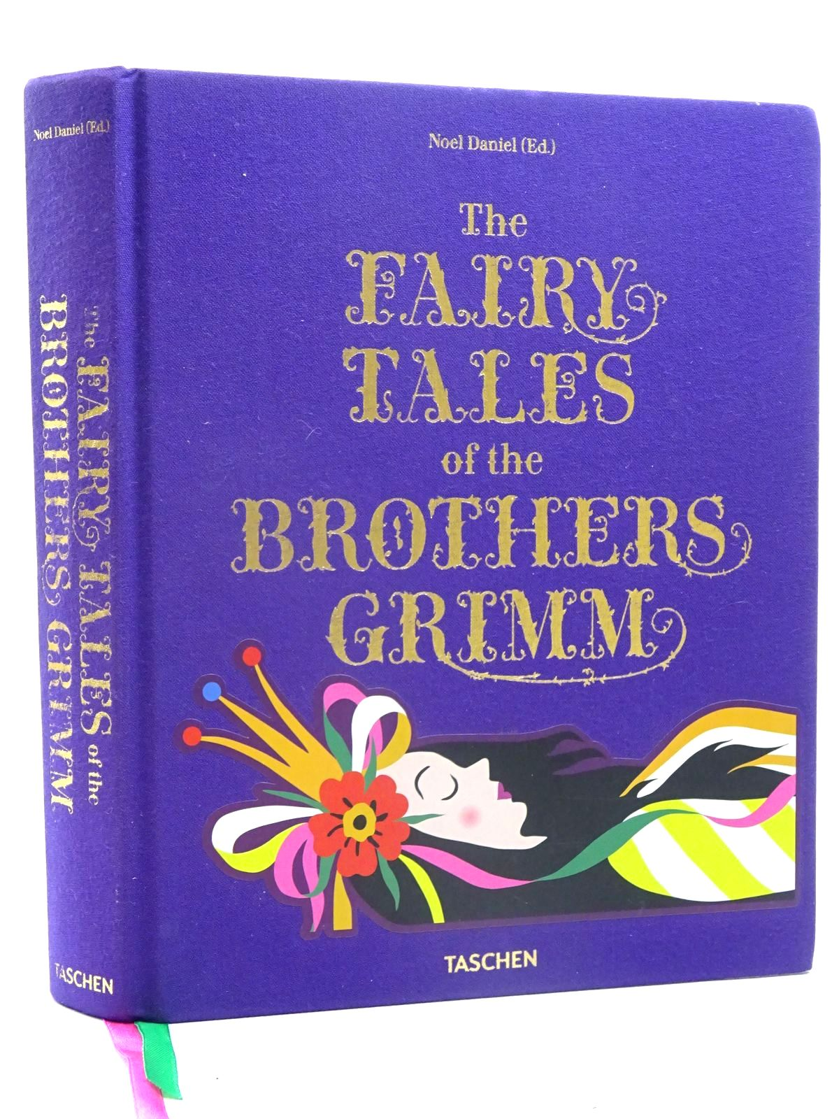 Photo of THE FAIRY TALES OF THE BROTHERS GRIMM written by Grimm, Brothers Daniel, Noel illustrated by Crane, Walter Nielsen, Kay Smith, Jessie Willcox Cruikshank, George et al.,  published by Taschen (STOCK CODE: 2125858)  for sale by Stella & Rose's Books