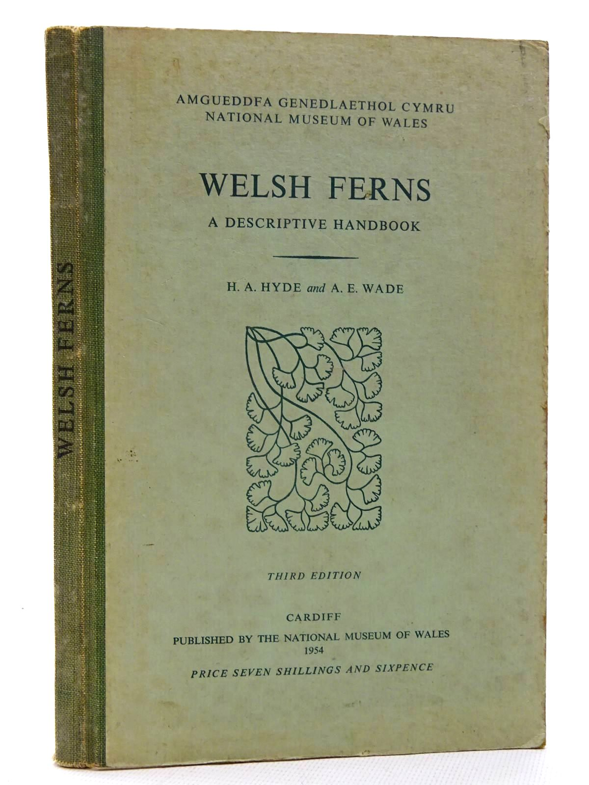 Photo of WELSH FERNS written by Hyde, H.A. illustrated by Wade, A.E. published by National Museum of Wales (STOCK CODE: 2125899)  for sale by Stella & Rose's Books