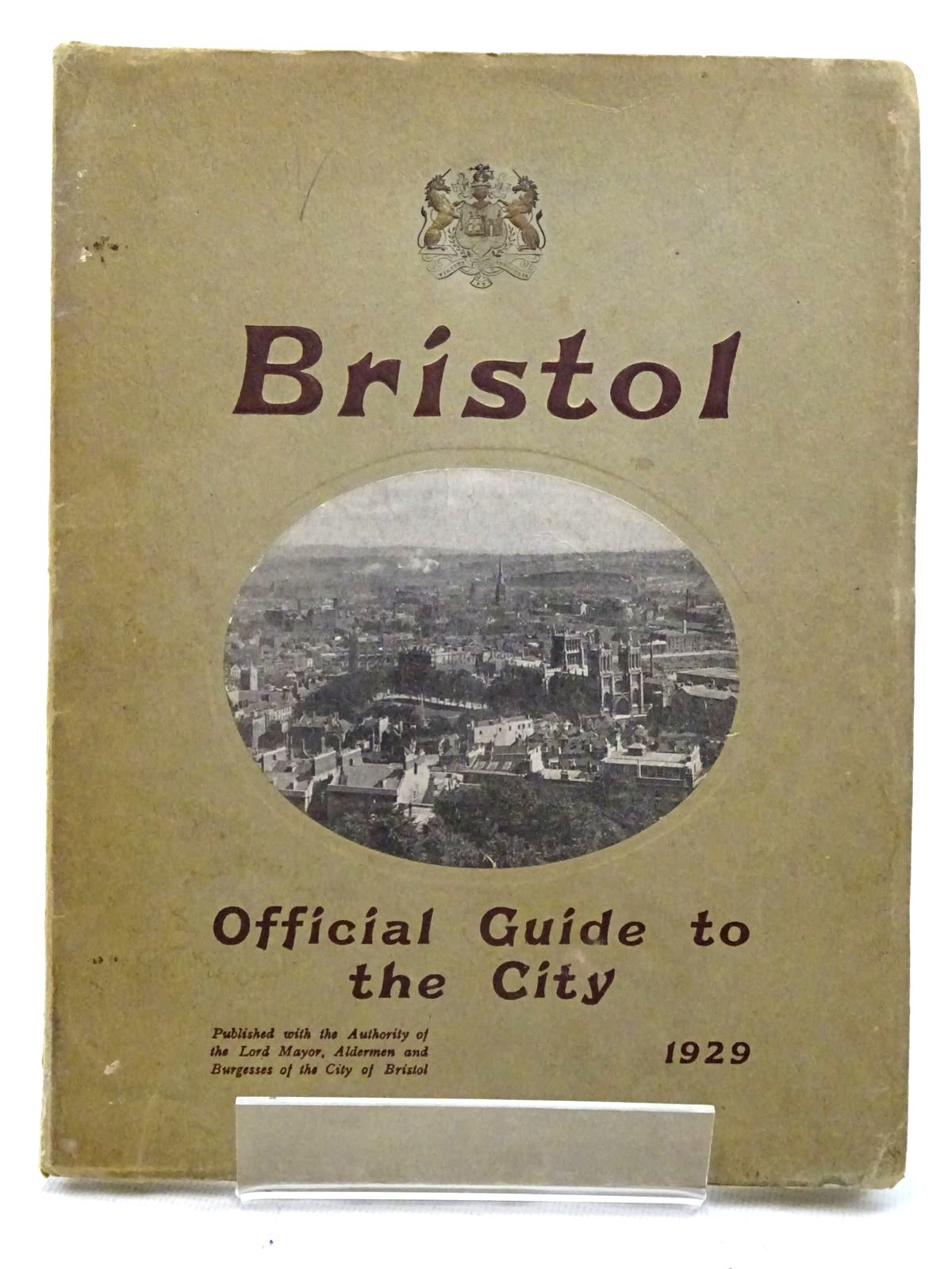 Photo of OFFICIAL GUIDE TO THE CITY OF BRISTOL- Stock Number: 2125918