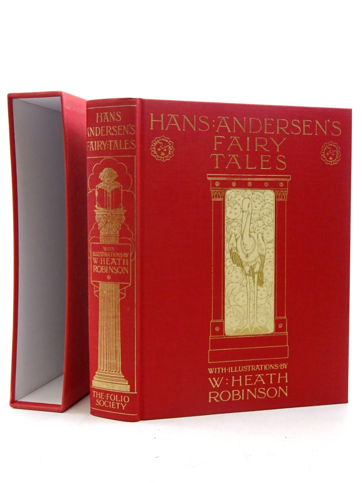 Photo of HANS ANDERSEN'S FAIRY TALES written by Andersen, Hans Christian illustrated by Robinson, W. Heath published by Folio Society (STOCK CODE: 2125993)  for sale by Stella & Rose's Books