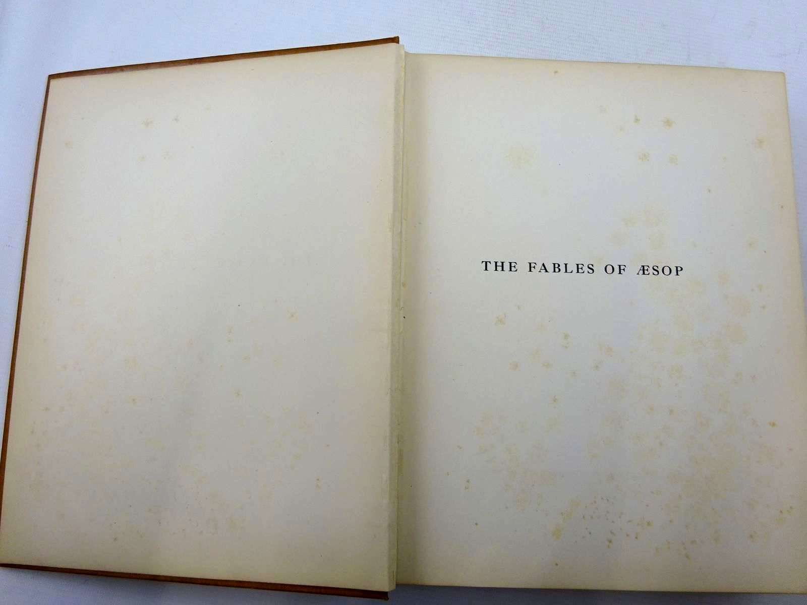 Photo of THE FABLES OF AESOP written by Aesop,  illustrated by Detmold, Edward J. published by Hodder & Stoughton (STOCK CODE: 2126057)  for sale by Stella & Rose's Books