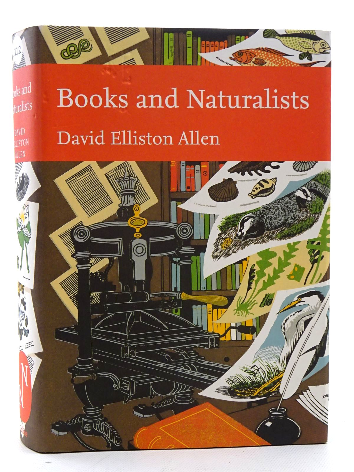 Photo of BOOKS AND NATURALISTS (NN 112) written by Allen, David Elliston published by Collins (STOCK CODE: 2126092)  for sale by Stella & Rose's Books
