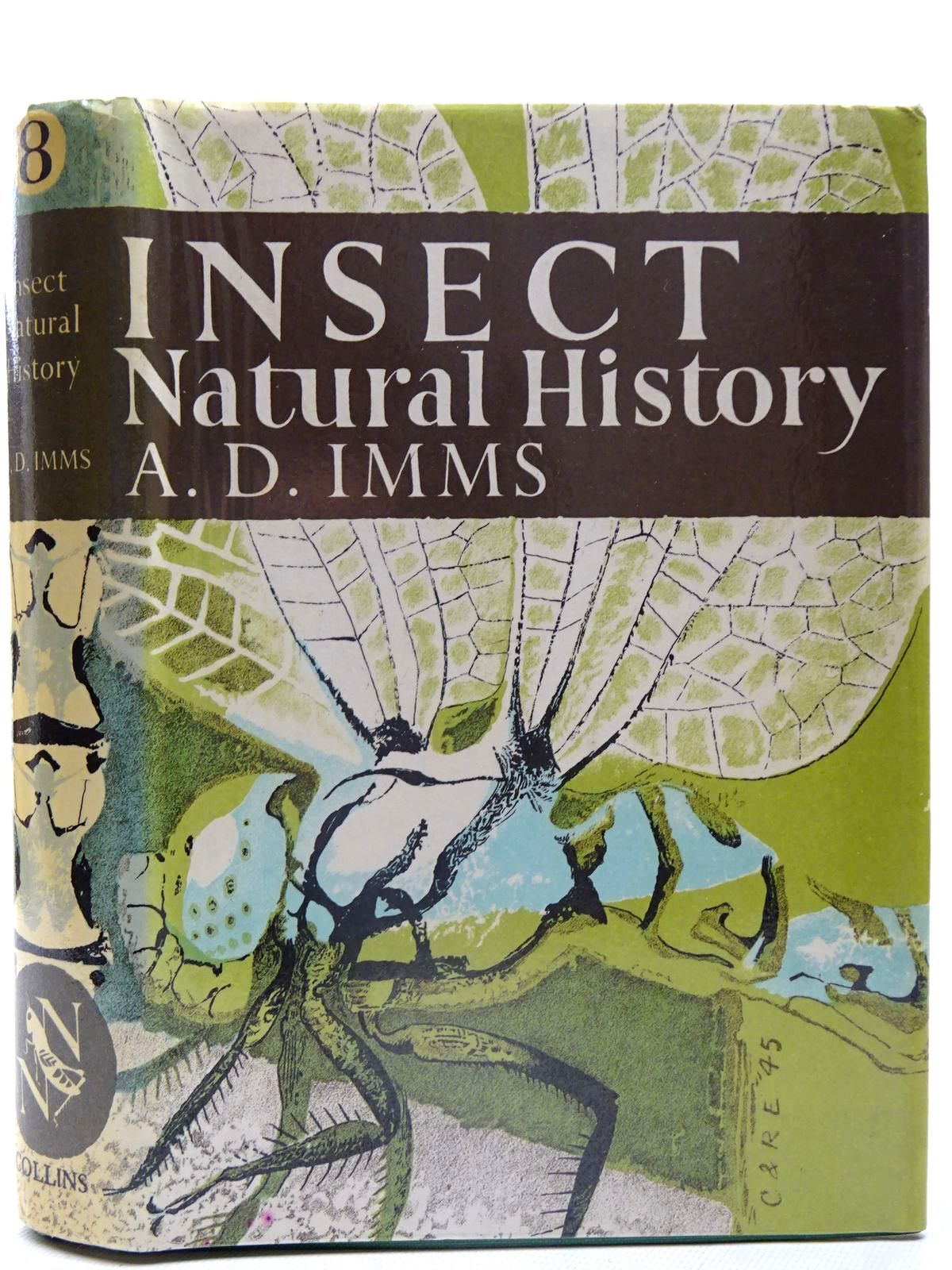 Photo of INSECT NATURAL HISTORY (NN 8) written by Imms, A.D. published by Collins (STOCK CODE: 2126149)  for sale by Stella & Rose's Books