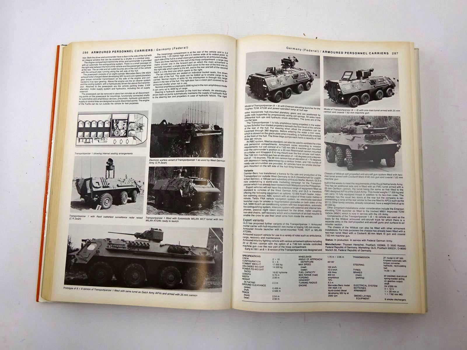 Photo of JANE'S ARMOUR AND ARTILLERY 1982-83 written by Foss, Christopher F. published by Jane's Yearbooks (STOCK CODE: 2126162)  for sale by Stella & Rose's Books