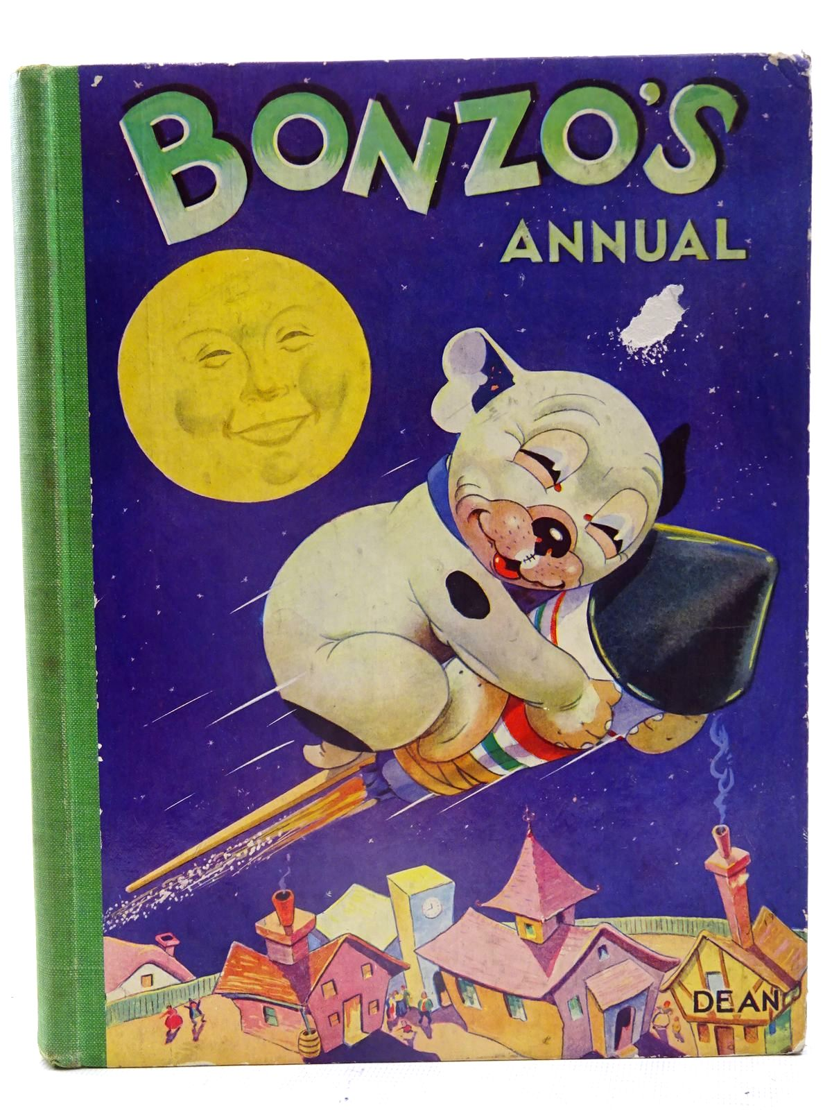 Photo of BONZO'S ANNUAL 1952 written by Studdy, G.E. illustrated by Studdy, G.E. published by Dean & Son Ltd. (STOCK CODE: 2126167)  for sale by Stella & Rose's Books