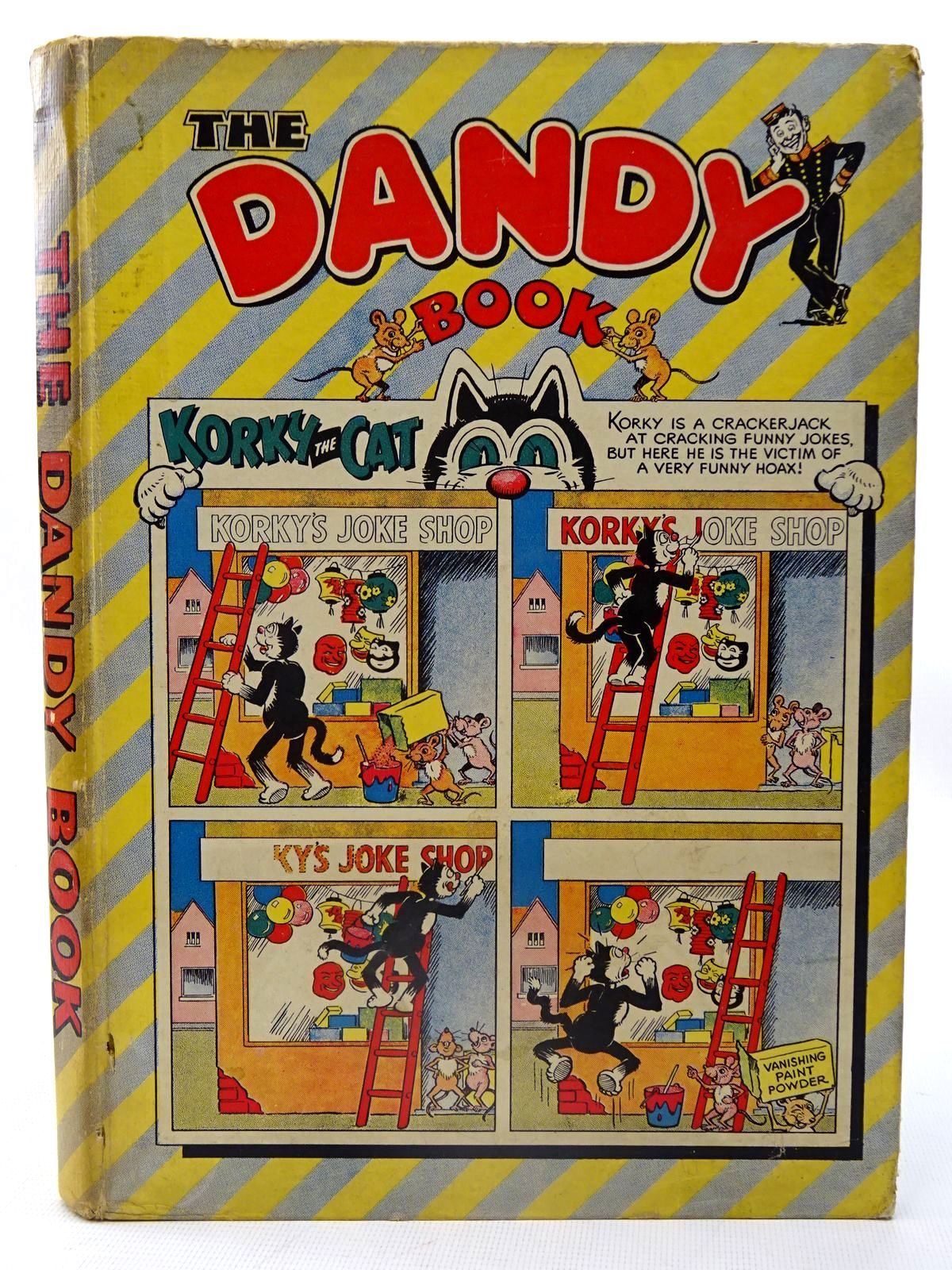 Photo of THE DANDY BOOK 1956 published by D.C. Thomson & Co Ltd. (STOCK CODE: 2126218)  for sale by Stella & Rose's Books