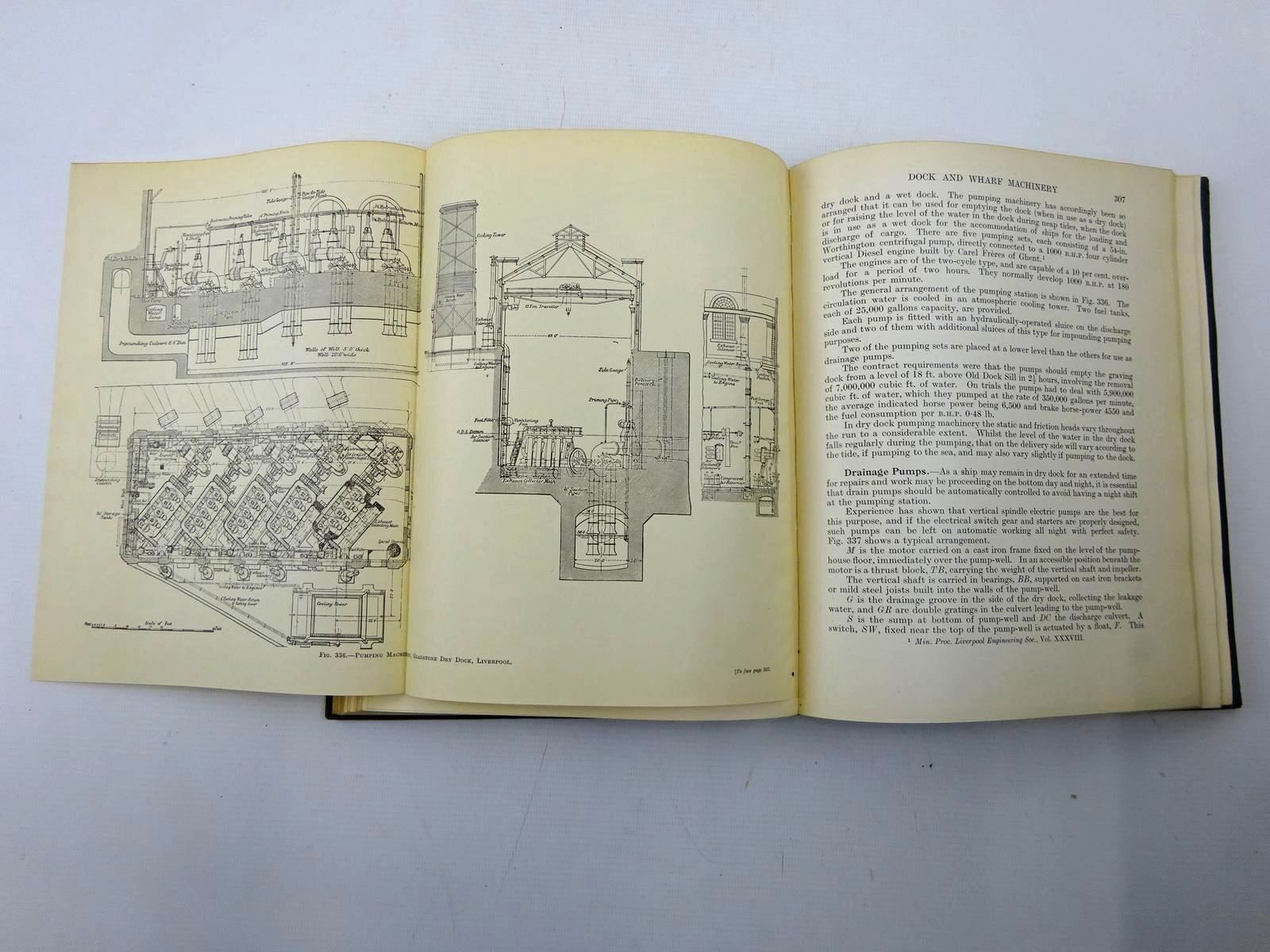 Photo of THE DESIGN, CONSTRUCTION AND MAINTENANCE OF DOCKS, WHARVES & PIERS written by Du Plat Taylor, F.M.