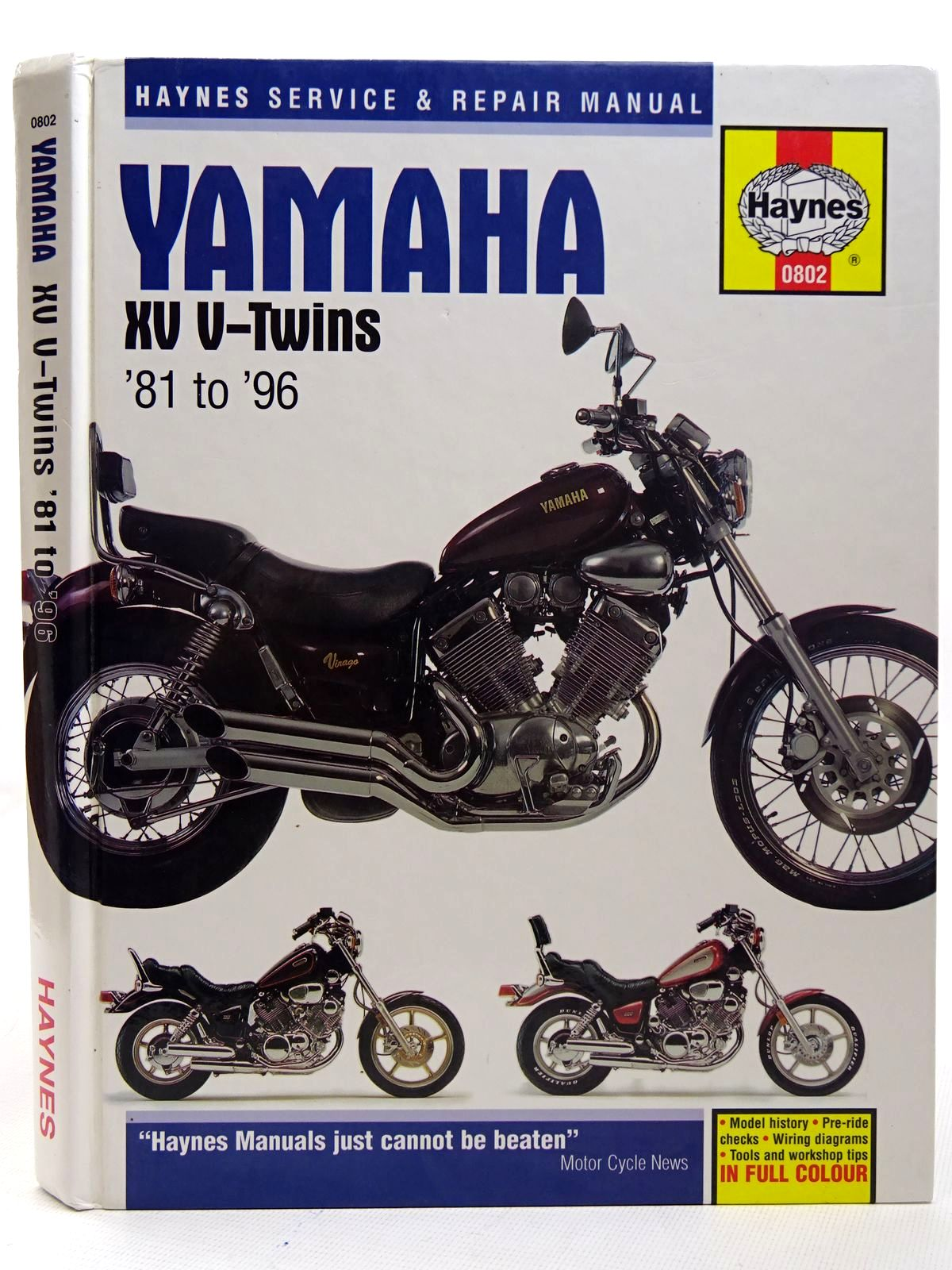 Photo of YAMAHA XV V-TWINS SERVICE AND REPAIR MANUAL written by Ahlstrand, Alan Haynes, John H. published by Haynes Publishing (STOCK CODE: 2126342)  for sale by Stella & Rose's Books
