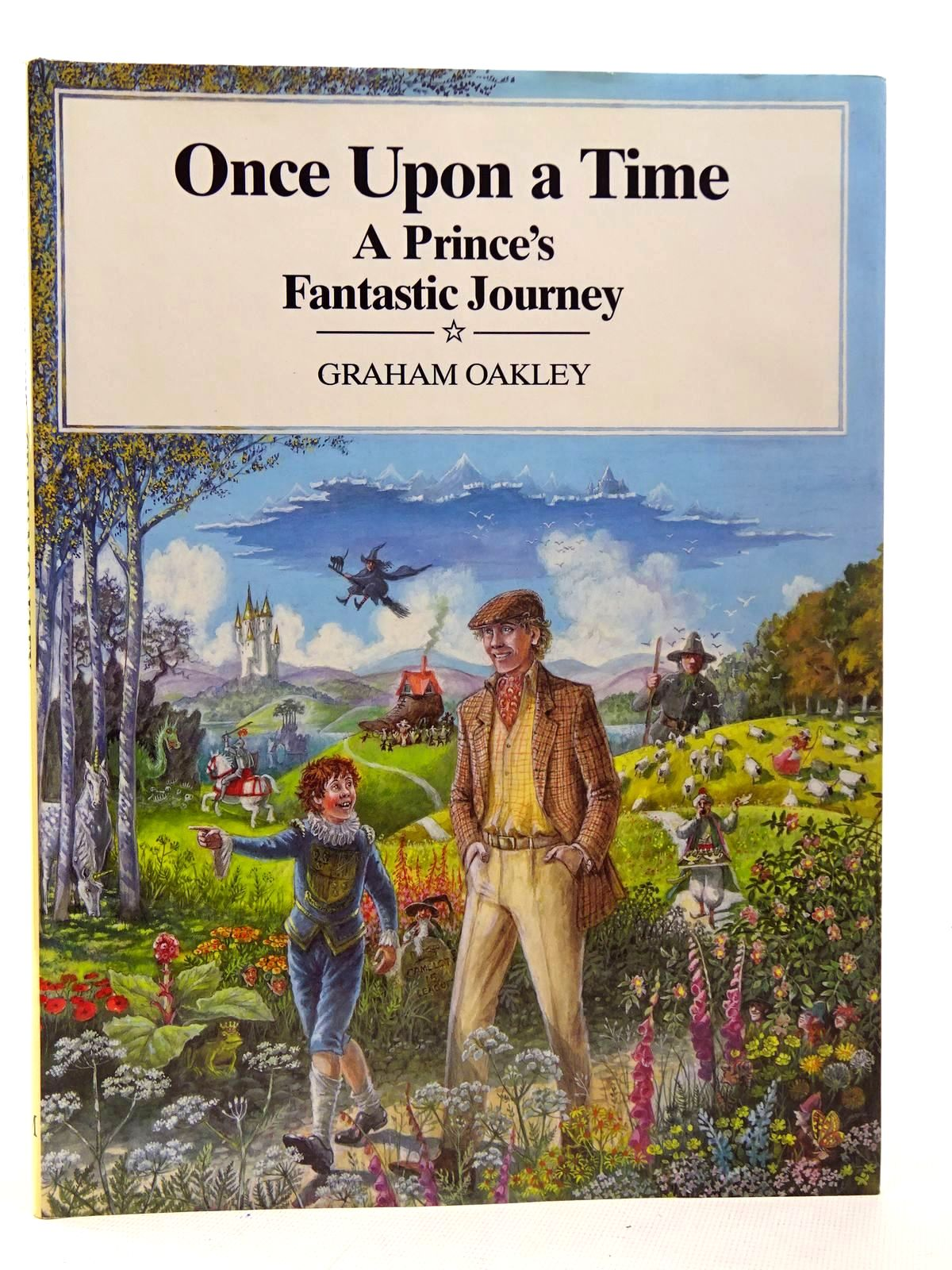 Photo of ONCE UPON A TIME: A PRINCE'S FANTASTIC JOURNEY written by Oakley, Graham illustrated by Oakley, Graham published by Macmillan Children's Books (STOCK CODE: 2126360)  for sale by Stella & Rose's Books