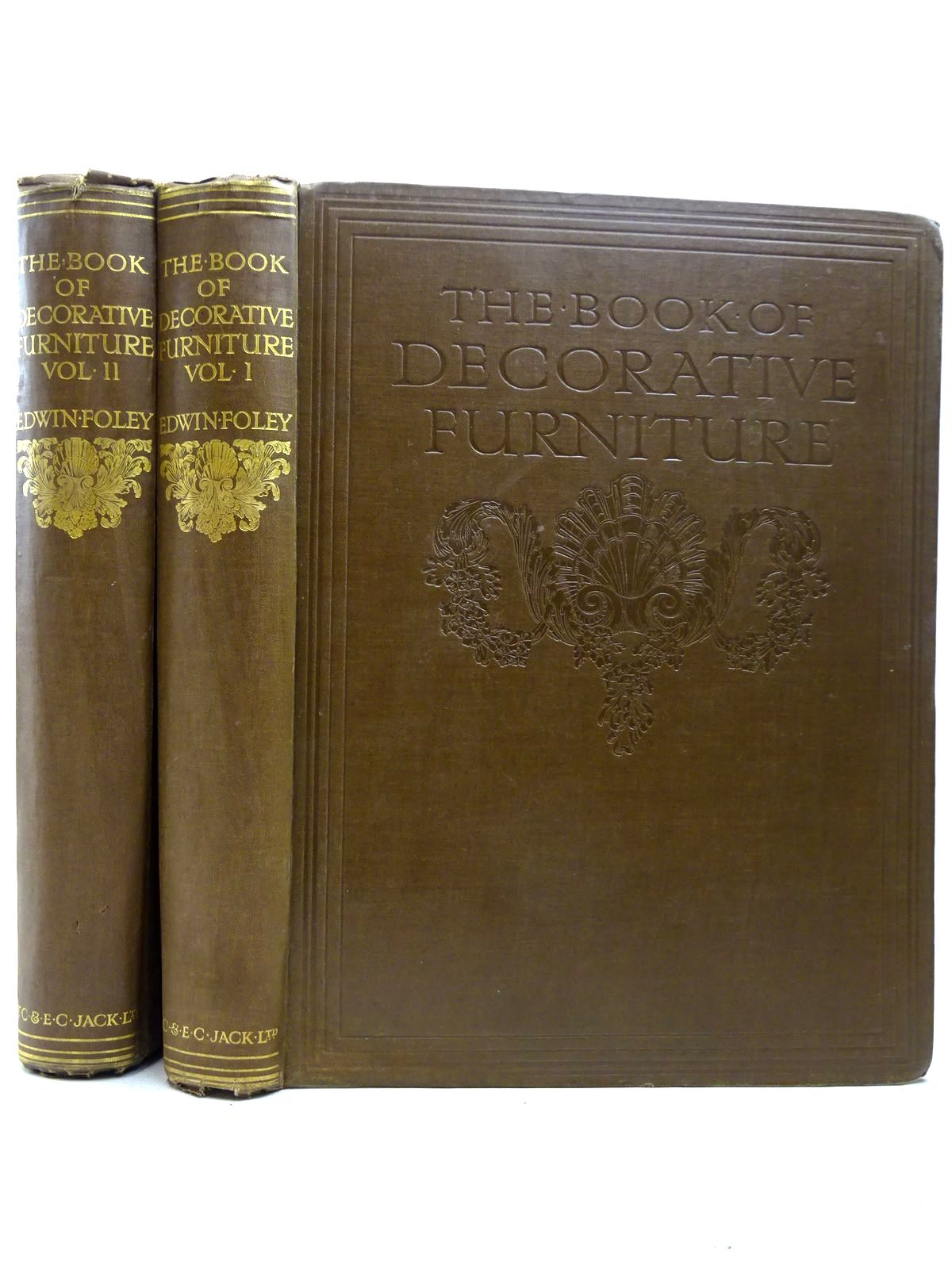 Photo of THE BOOK OF DECORATIVE FURNITURE ITS FORM, COLOUR, & HISTORY (2 VOLUMES) written by Foley, Edwin illustrated by Foley, Edwin et al., published by T.C. & E.C. Jack Ltd. (STOCK CODE: 2126391)  for sale by Stella & Rose's Books