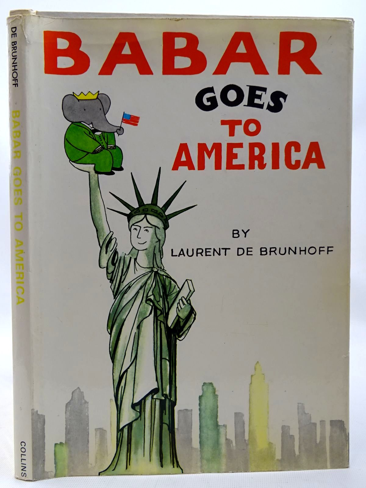 Photo of BABAR GOES TO AMERICA written by De Brunhoff, Laurent illustrated by De Brunhoff, Laurent published by Collins (STOCK CODE: 2126426)  for sale by Stella & Rose's Books