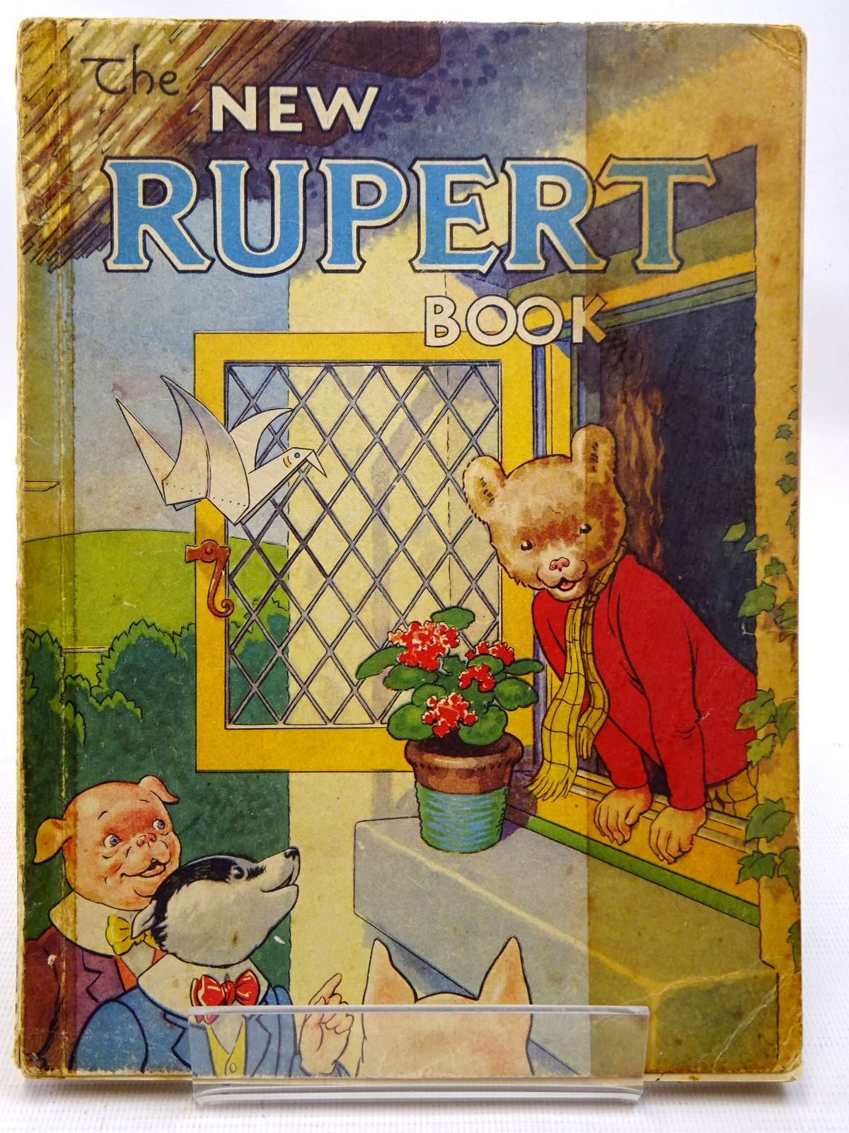 Photo of RUPERT ANNUAL 1946 - THE NEW RUPERT BOOK written by Bestall, Alfred illustrated by Bestall, Alfred published by Daily Express (STOCK CODE: 2126449)  for sale by Stella & Rose's Books