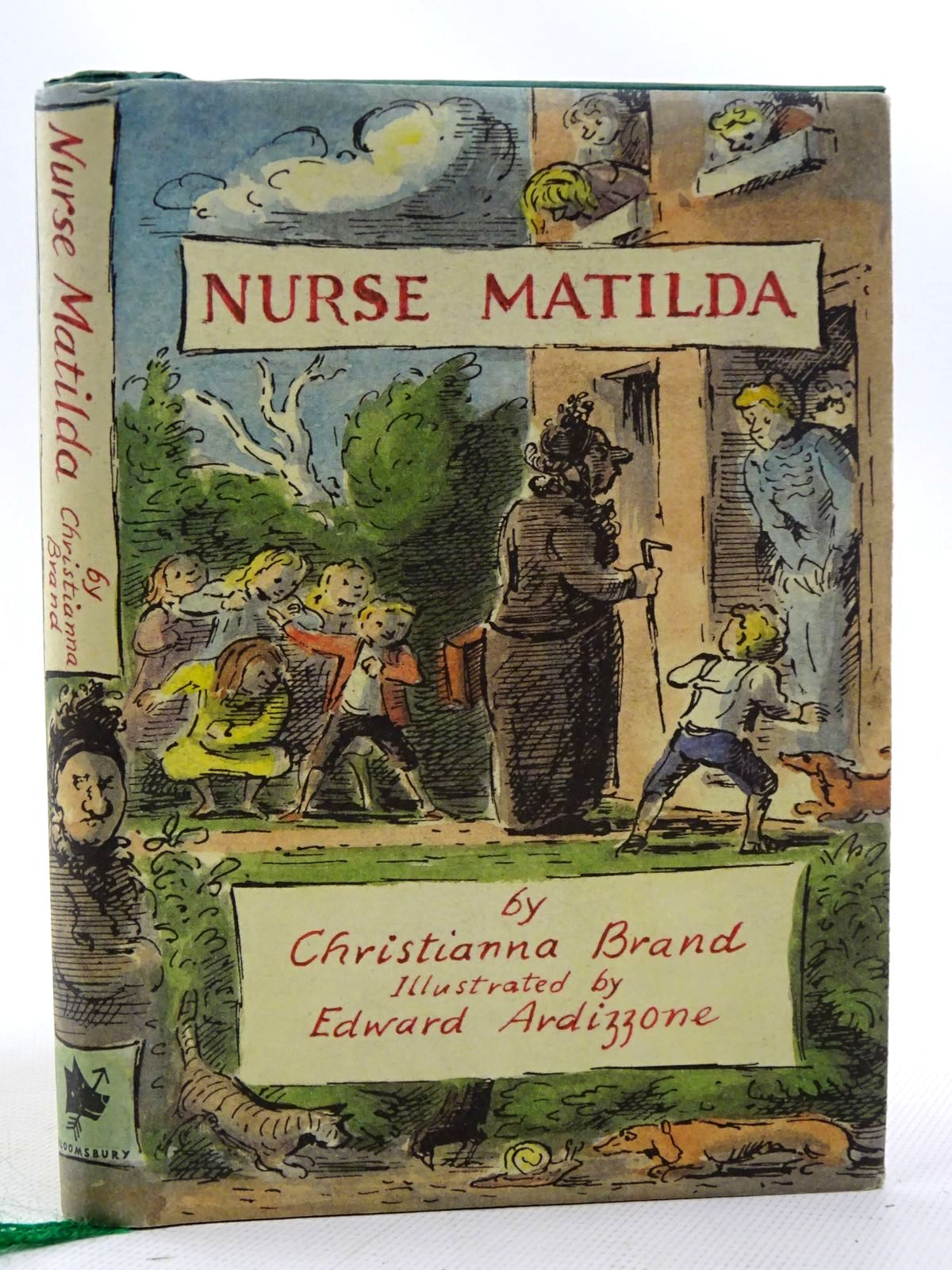 Photo of NURSE MATILDA written by Brand, Christianna illustrated by Ardizzone, Edward published by Bloomsbury Children's Books (STOCK CODE: 2126460)  for sale by Stella & Rose's Books