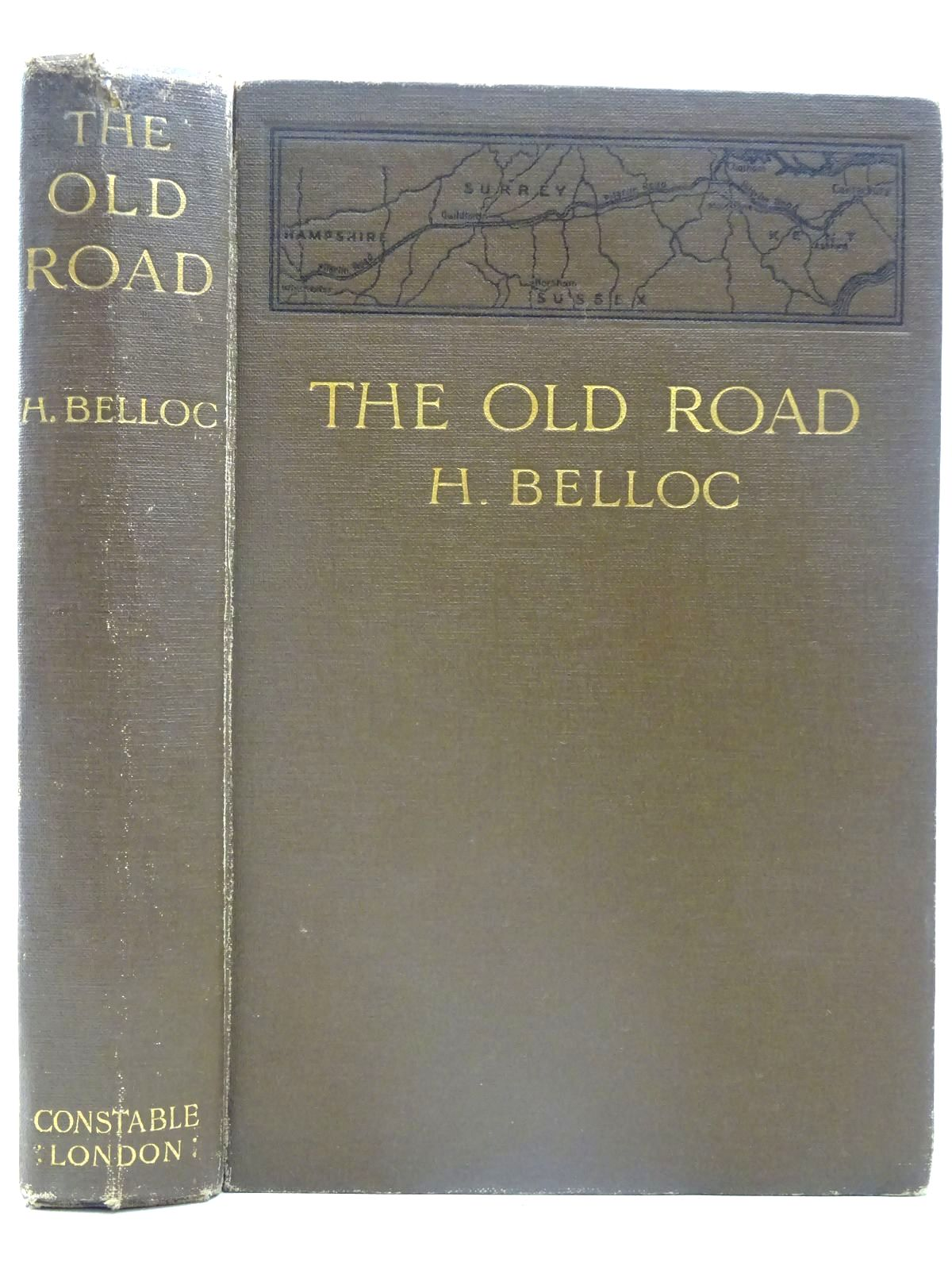Photo of THE OLD ROAD written by Belloc, Hilaire illustrated by Hyde, William published by Constable & Co. Ltd. (STOCK CODE: 2126489)  for sale by Stella & Rose's Books
