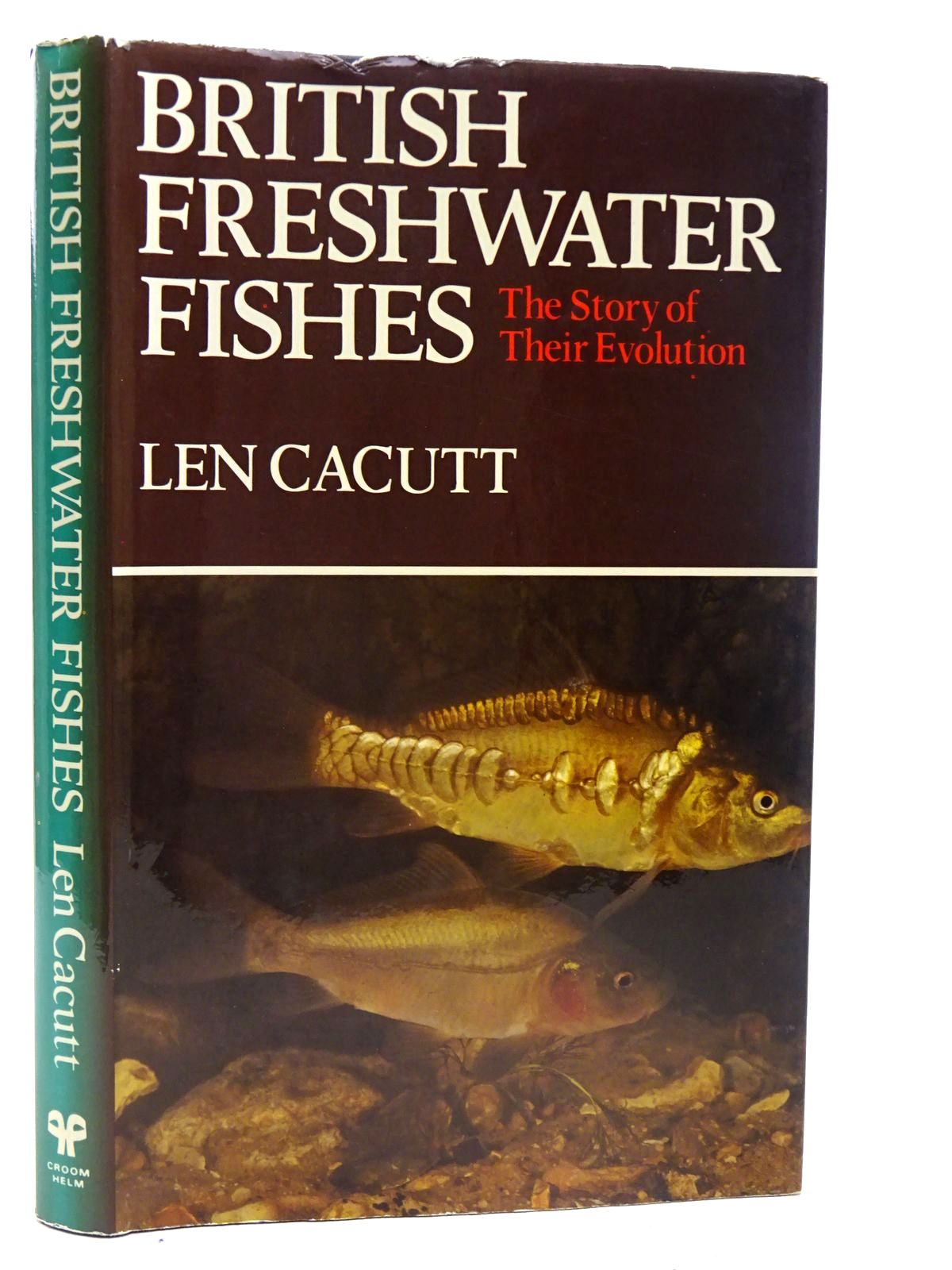 Photo of BRITISH FRESHWATER FISHES written by Cacutt, Len published by Croom Helm (STOCK CODE: 2126502)  for sale by Stella & Rose's Books