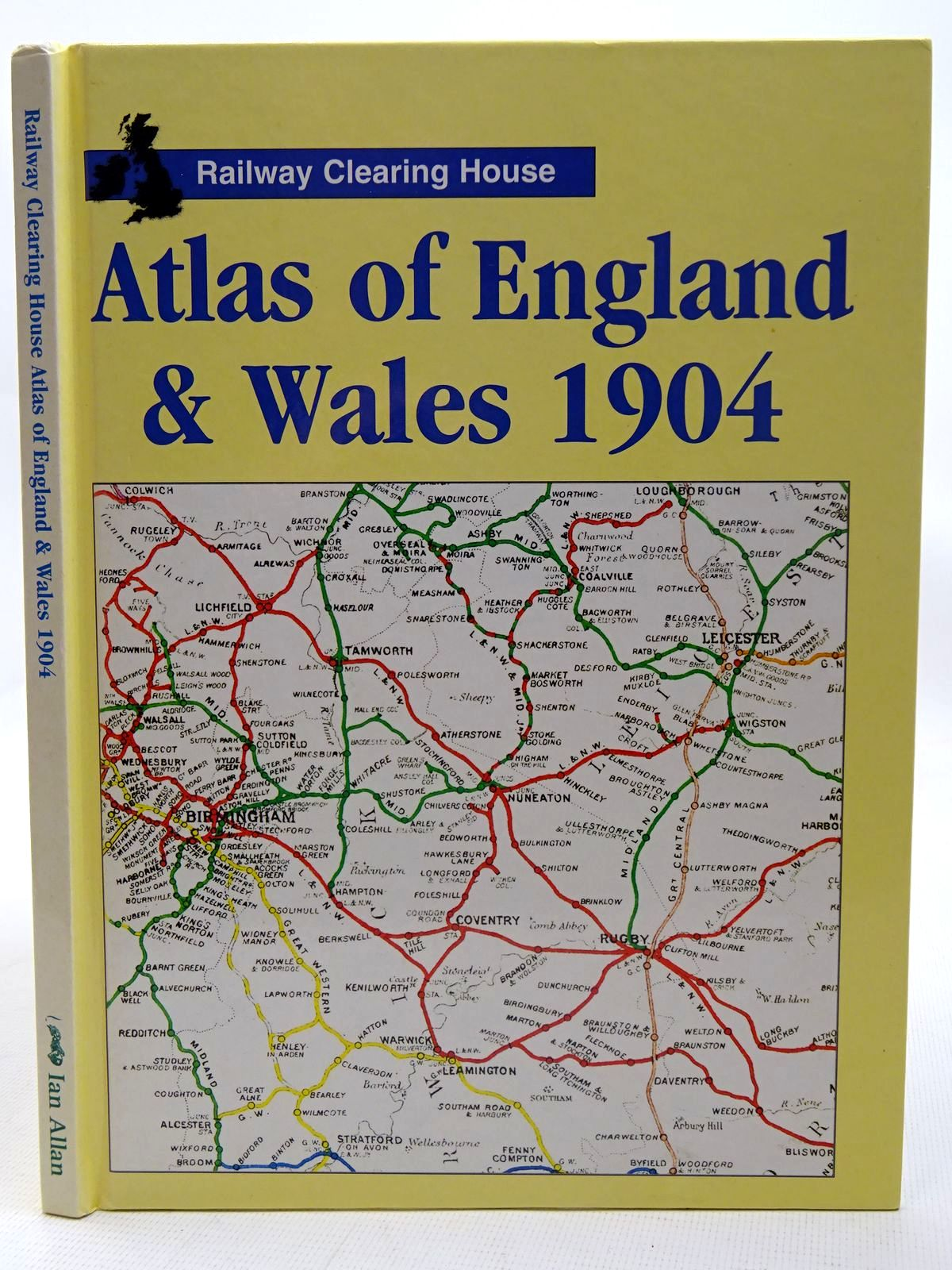 Photo of RAILWAY CLEARING HOUSE ATLAS OF ENGLAND & WALES 1904 published by Ian Allan (STOCK CODE: 2126512)  for sale by Stella & Rose's Books