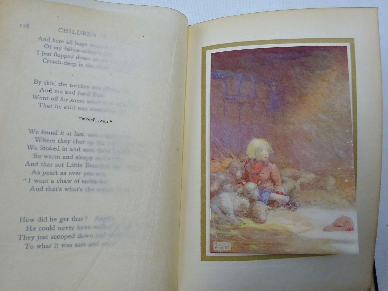 Photo of CHILDREN IN VERSE written by Burke, Thomas illustrated by Appleton, Honor C. published by Duckworth & Co. (STOCK CODE: 2126520)  for sale by Stella & Rose's Books