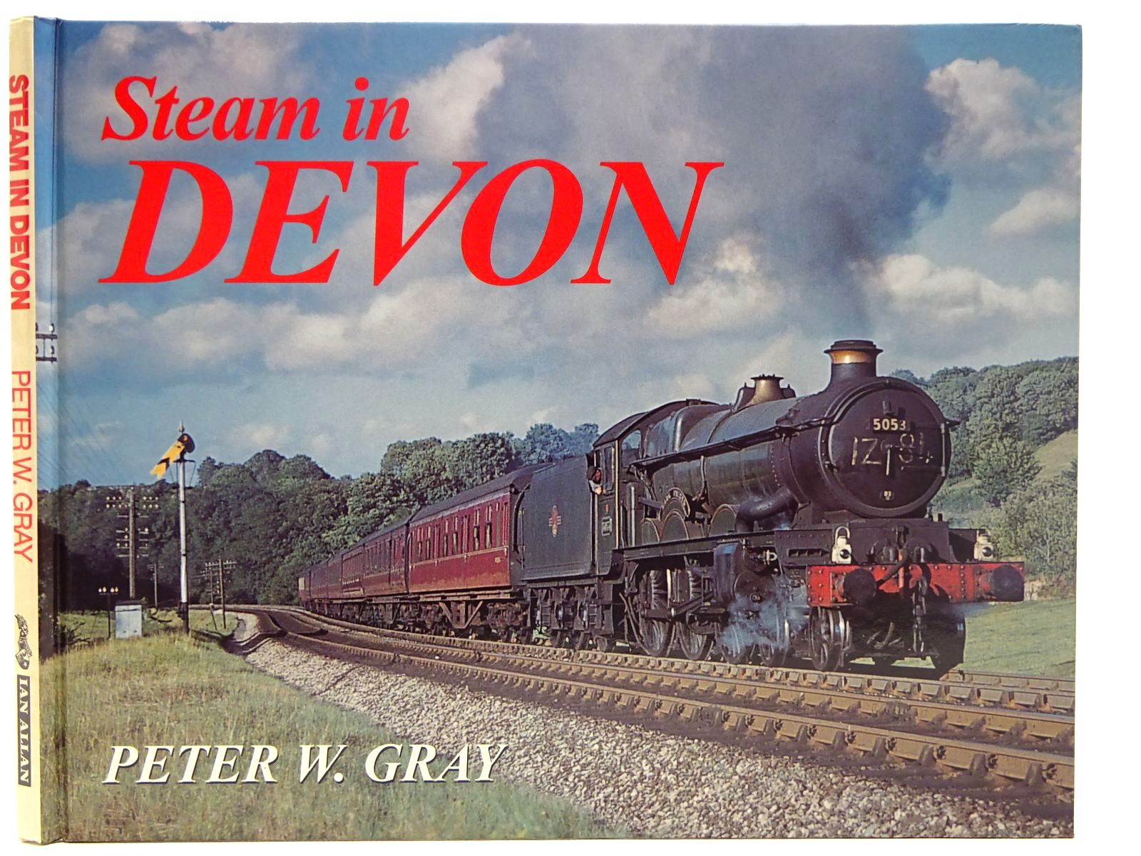 Photo of STEAM IN DEVON written by Gray, Peter W. published by Ian Allan Ltd. (STOCK CODE: 2126573)  for sale by Stella & Rose's Books