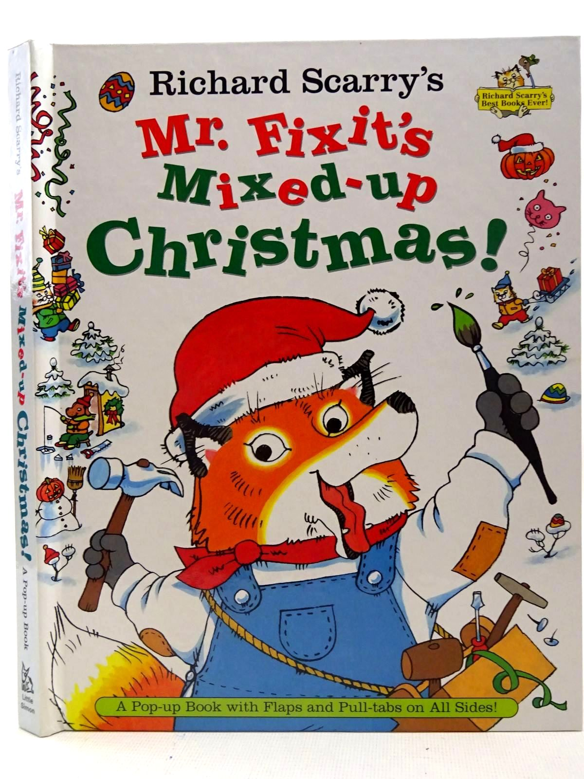 Photo of MR. FIXIT'S MIXED-UP CHRISTMAS! written by Scarry, Richard illustrated by Scarry, Richard published by Little Simon (STOCK CODE: 2126587)  for sale by Stella & Rose's Books