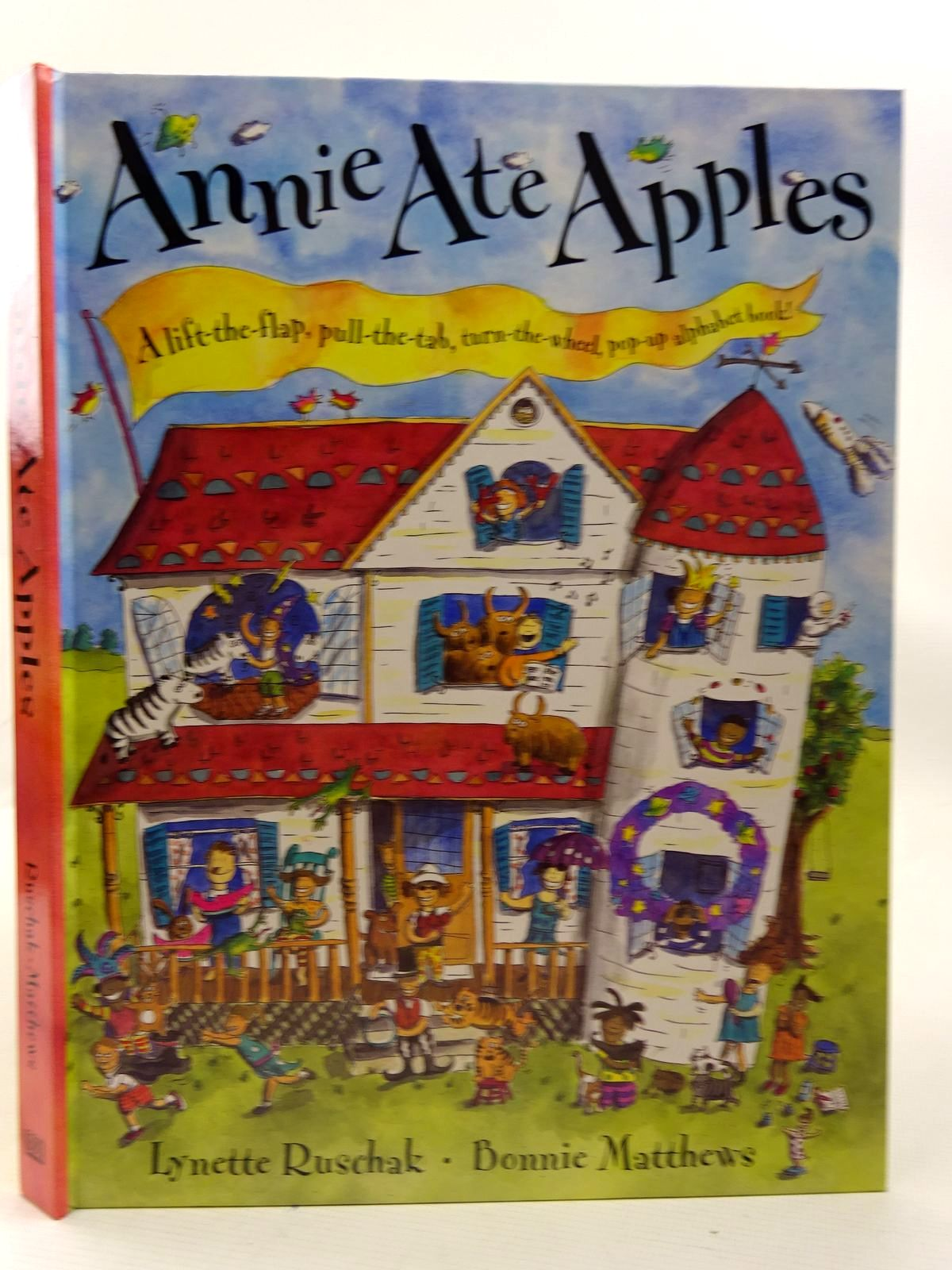 Photo of ANNIE ATE APPLES- Stock Number: 2126594