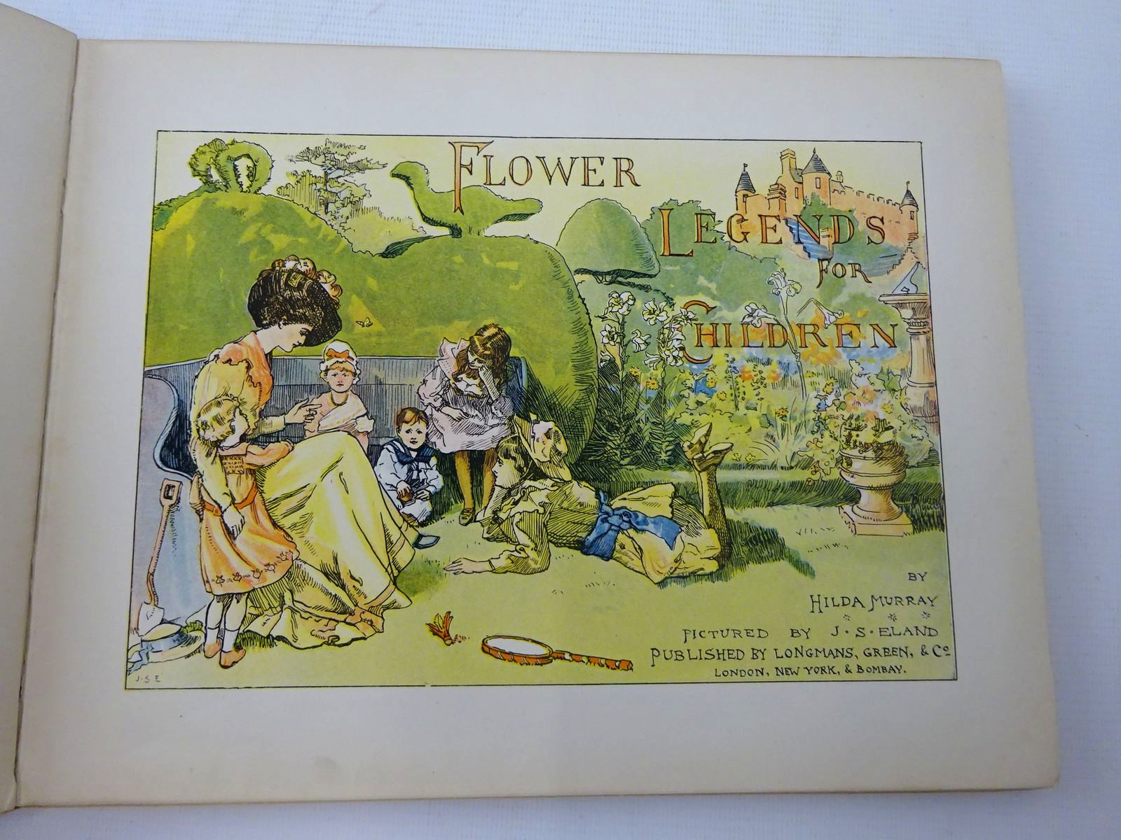 Photo of FLOWER LEGENDS FOR CHILDREN written by Murray, Hilda illustrated by Eland, J.S. published by Longmans, Green & Co. (STOCK CODE: 2126687)  for sale by Stella & Rose's Books
