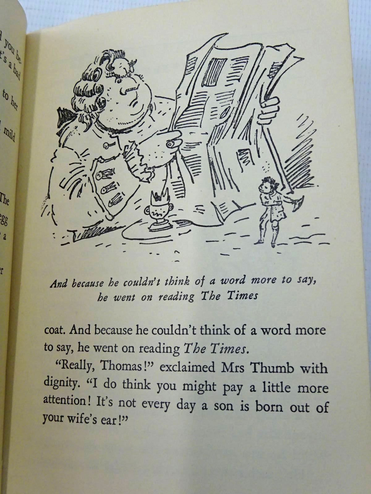 Photo of THE WONDERFUL LIFE AND ADVENTURES OF TOM THUMB written by Austin, Paul Britten illustrated by Peake, Mervyn published by Radiotjanst (STOCK CODE: 2126690)  for sale by Stella & Rose's Books