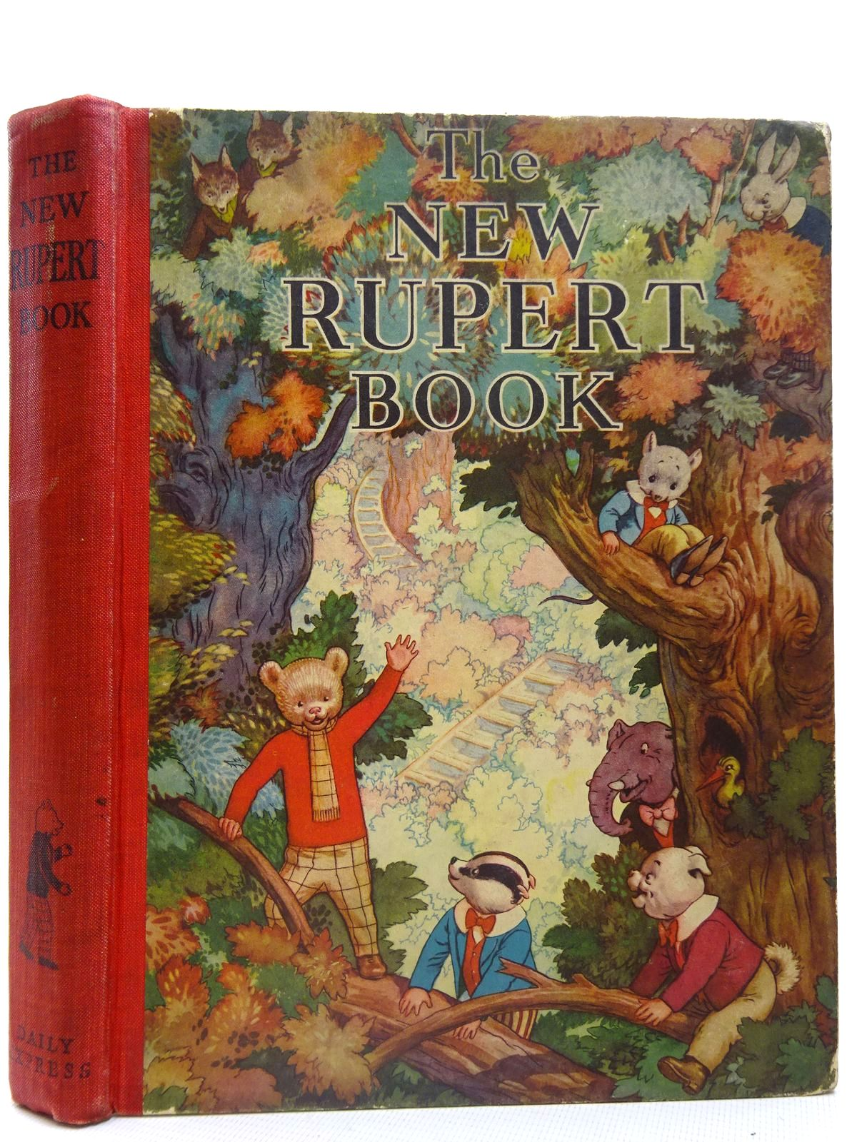 Photo of RUPERT ANNUAL 1938 - THE NEW RUPERT BOOK written by Bestall, Alfred illustrated by Bestall, Alfred published by Daily Express (STOCK CODE: 2126694)  for sale by Stella & Rose's Books