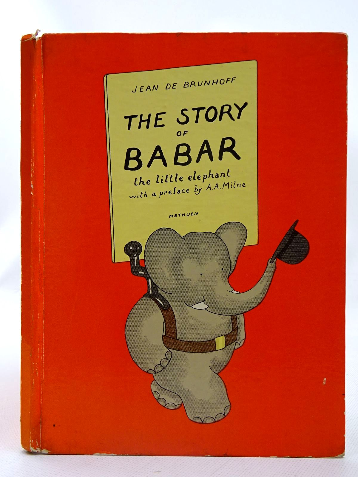 Photo of THE STORY OF BABAR THE LITTLE ELEPHANT written by De Brunhoff, Jean Milne, A.A. illustrated by De Brunhoff, Jean published by Methuen & Co. Ltd. (STOCK CODE: 2126696)  for sale by Stella & Rose's Books