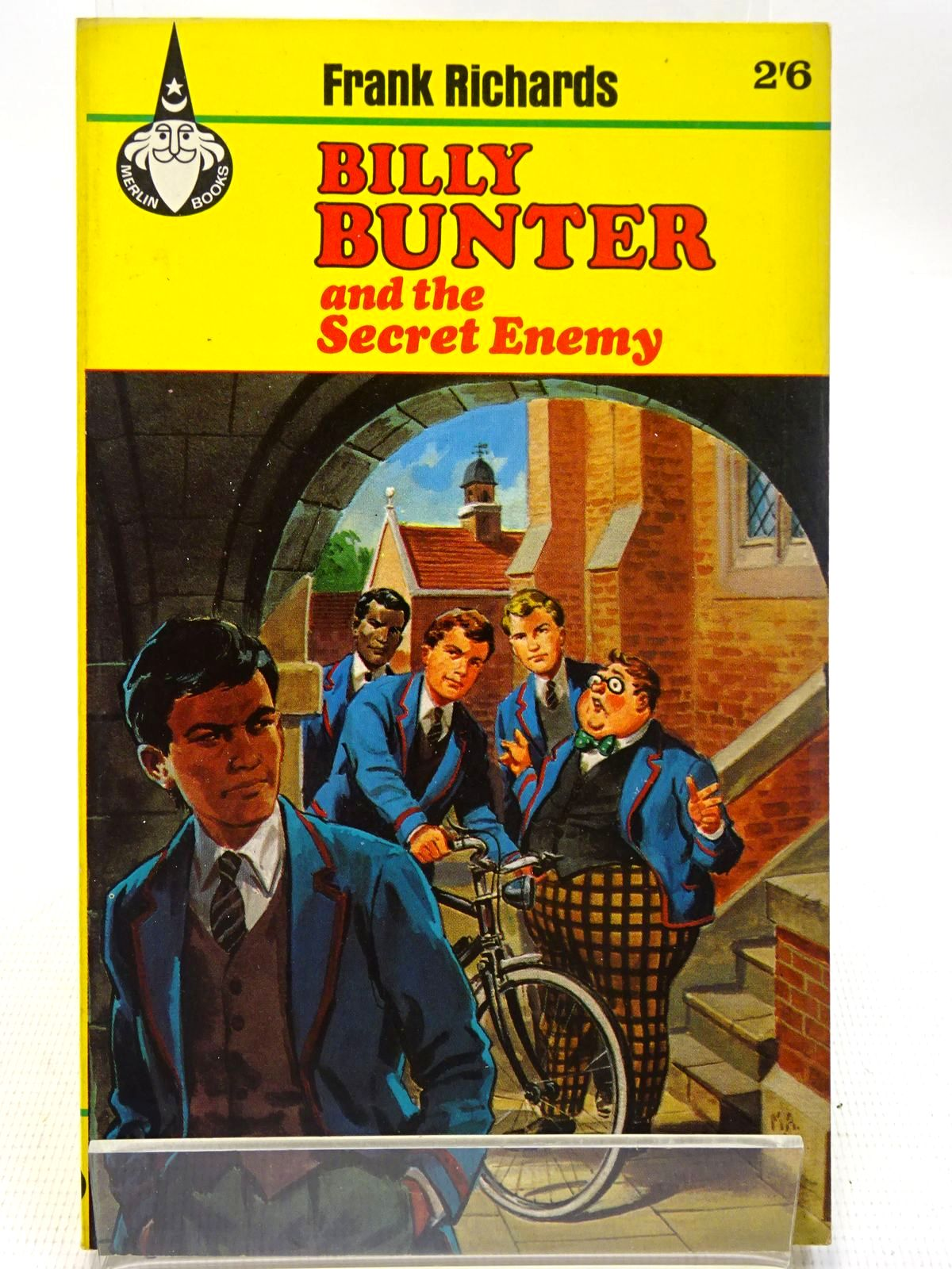 Photo of BILLY BUNTER AND THE SECRET ENEMY- Stock Number: 2126703