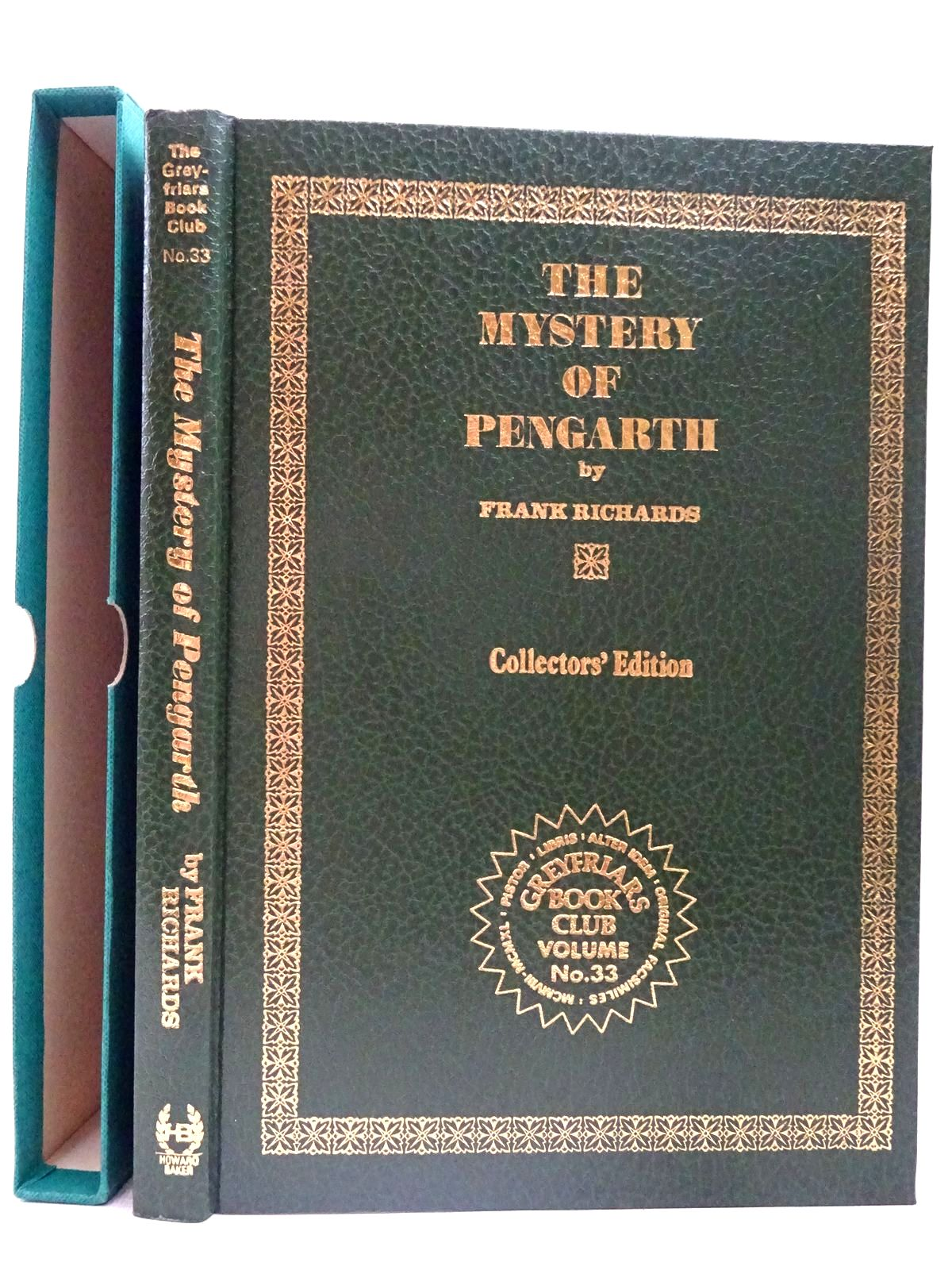 Photo of THE MYSTERY OF PENGARTH written by Richards, Frank published by Howard Baker Press (STOCK CODE: 2126719)  for sale by Stella & Rose's Books