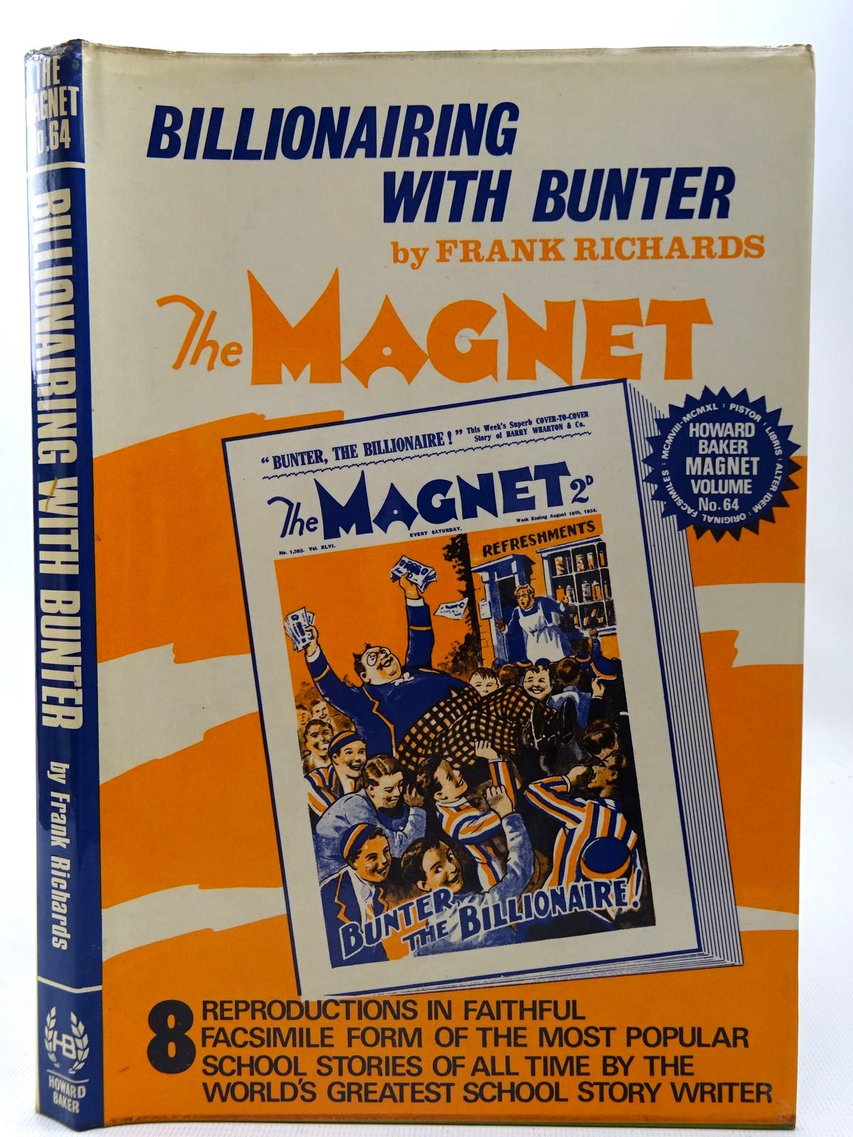 Photo of BILLIONAIRING WITH BUNTER written by Richards, Frank published by Howard Baker Press (STOCK CODE: 2126748)  for sale by Stella & Rose's Books