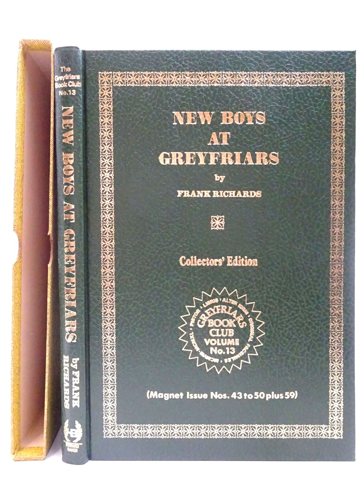 Photo of NEW BOYS AT GREYFRIARS written by Richards, Frank published by Howard Baker (STOCK CODE: 2126777)  for sale by Stella & Rose's Books