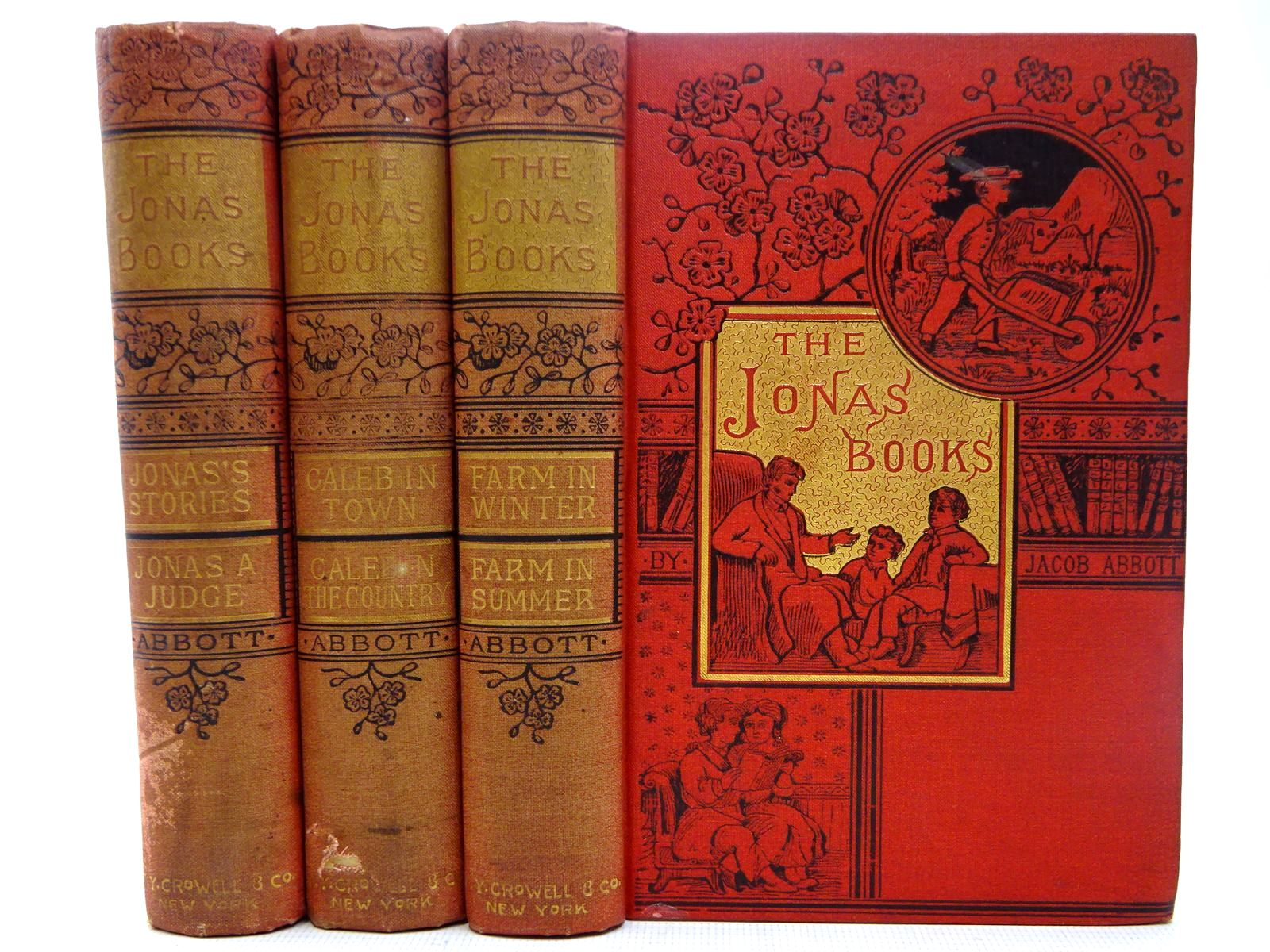 Photo of THE JONAS BOOKS (3 VOLUMES) written by Abbott, Jacob published by T.Y. Crowell & Co. (STOCK CODE: 2126820)  for sale by Stella & Rose's Books