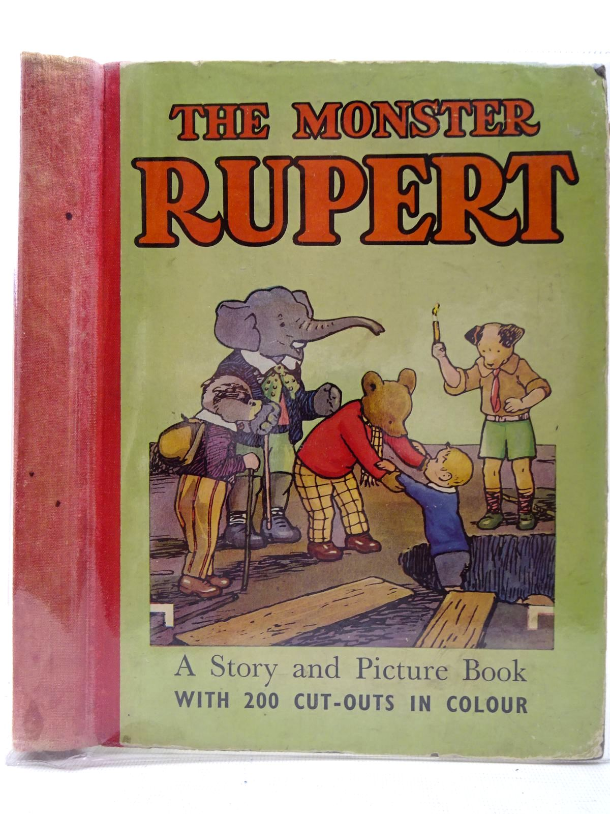 Photo of THE MONSTER RUPERT written by Tourtel, Mary illustrated by Tourtel, Mary published by Sampson Low, Marston & Co. Ltd. (STOCK CODE: 2126822)  for sale by Stella & Rose's Books