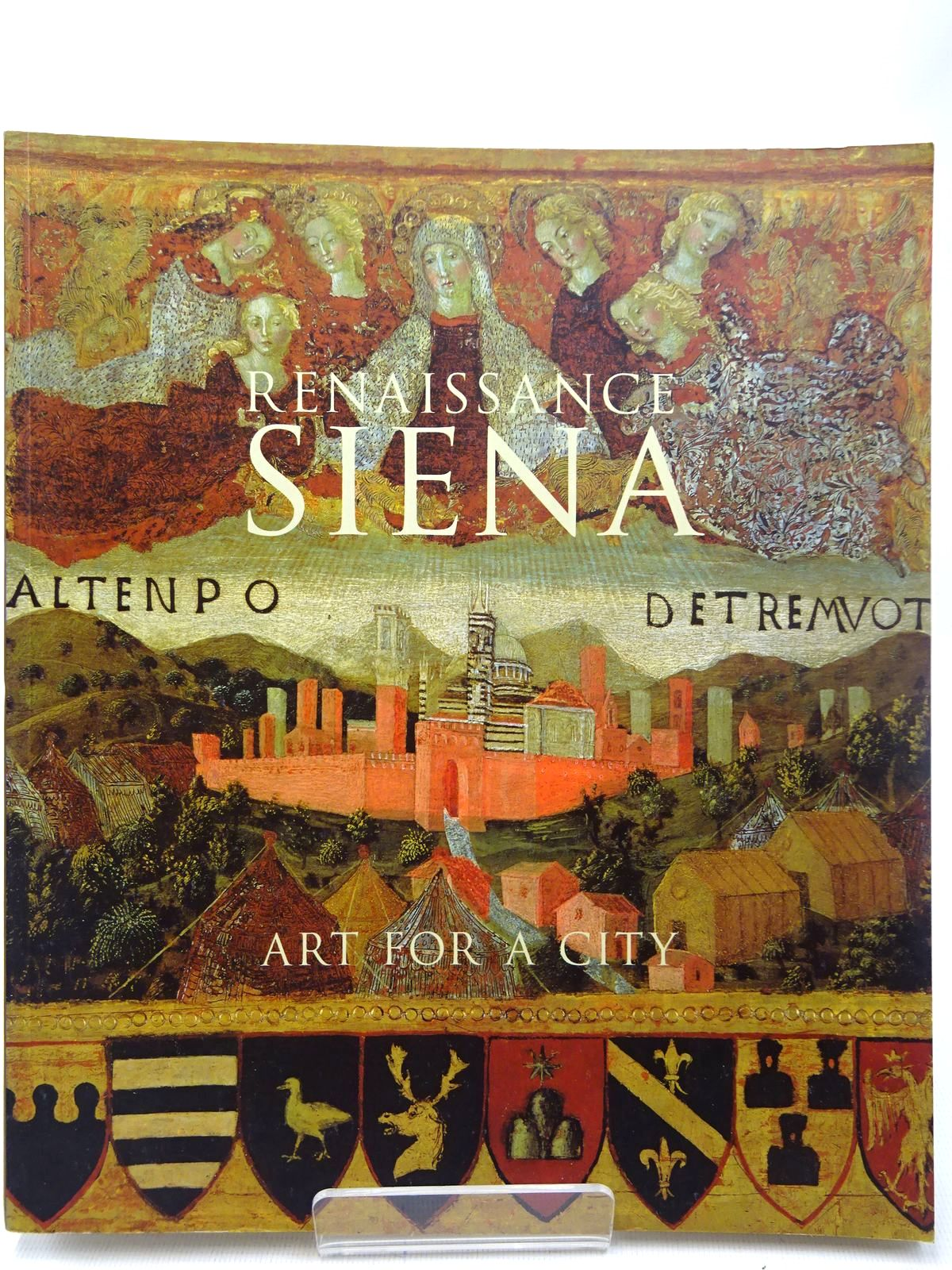 Photo of RENAISSANCE SIENA ART FOR A CITY written by Syson, Luke<br />Angelini, Alessandro<br />Jackson, Philippa<br />Nevola, Fabrizio<br />Plazzotta, Carol<br />et al, published by National Gallery Company Limited (STOCK CODE: 2126834)  for sale by Stella & Rose's Books